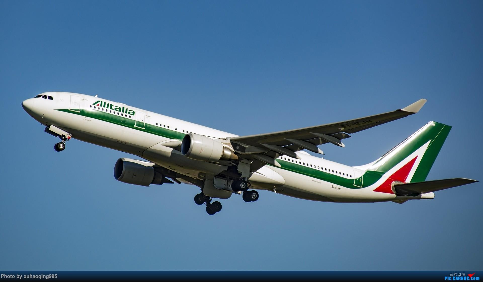 Re:[原创]罗马机场(FCO)拍机 AIRBUS A330-200 EI-EJN 意大利菲乌米奇诺机场