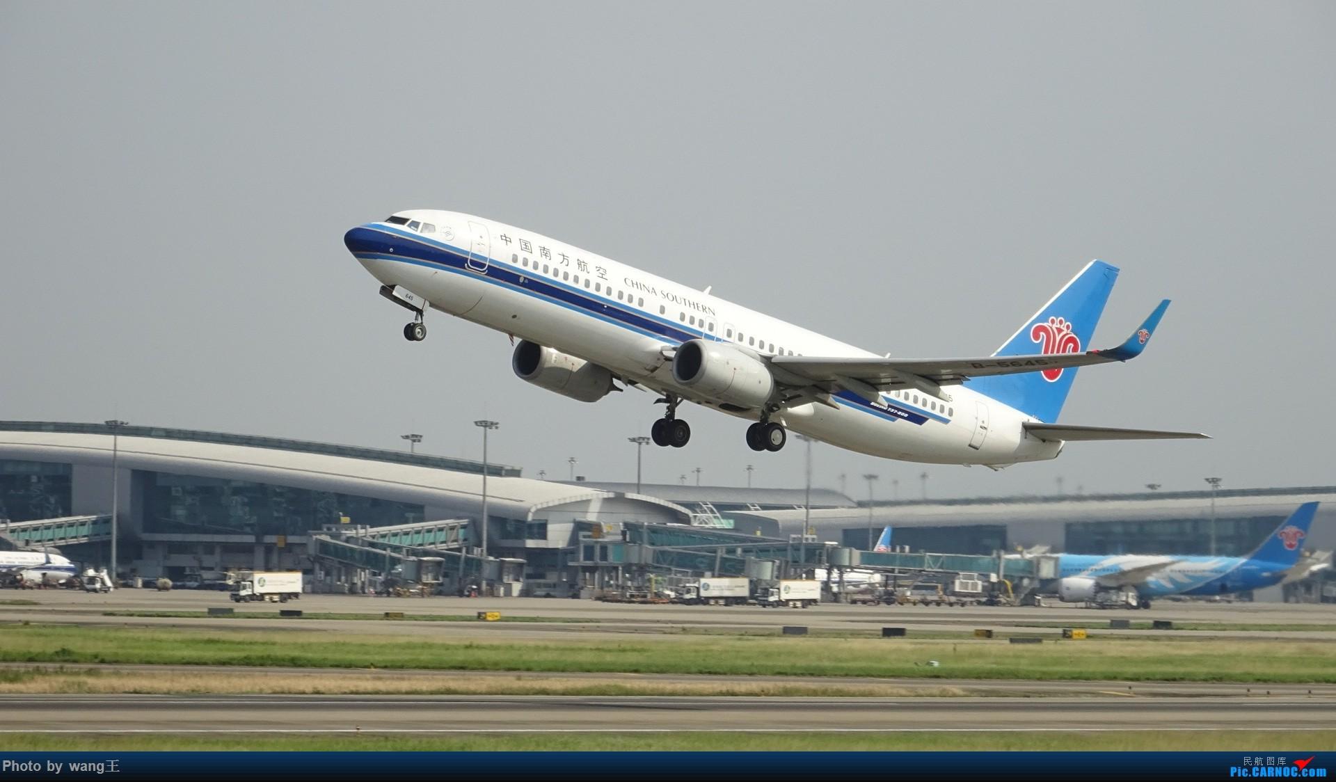 [原创]CAN拍机 去年库存 BOEING 737-81B(WL) B-5645 中国广州白云国际机场