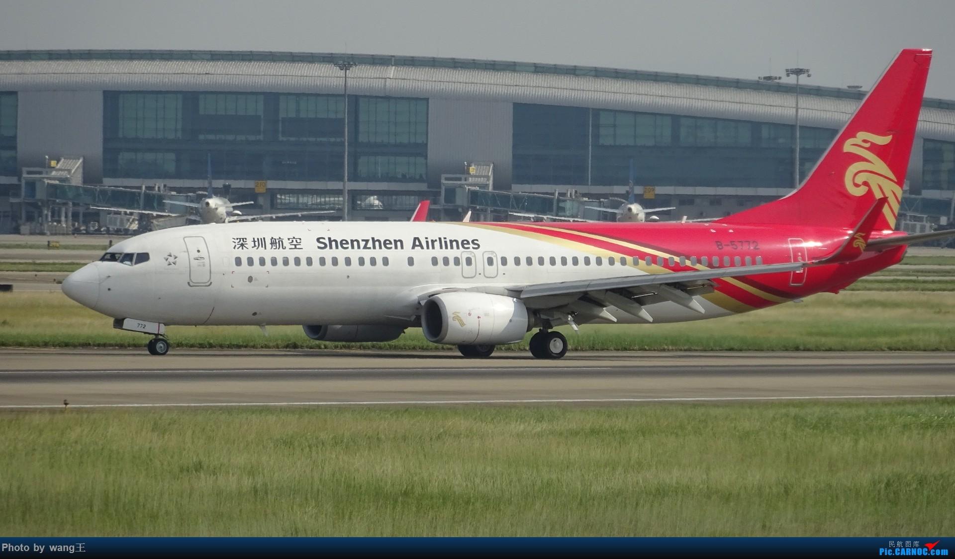 Re:[原创]CAN拍机 去年库存 BOEING 737-87L(WL) B-5772 中国广州白云国际机场