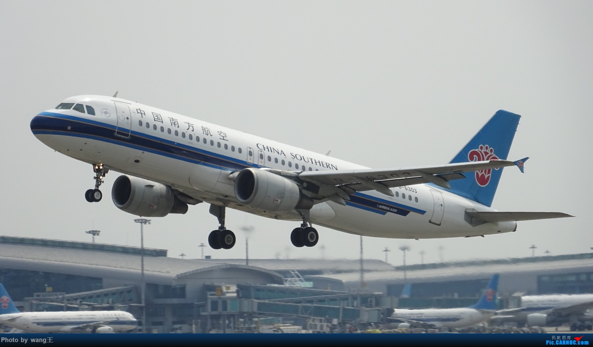 Re:[原创]CAN拍机  去年库存 AIRBUS A320-214 B-6303 中国广州白云国际机场