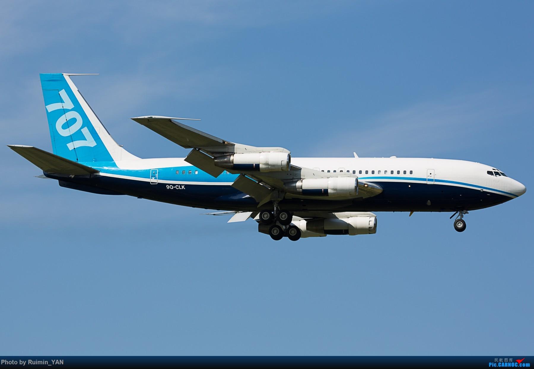 Re:[原创]【PEK】【砖机】【波音707】刚果民主共和国总统卡比拉 刚果金政府(Democratic Republic of the Congo) 9Q-CLK B701 BOEING 707-100 9Q-CLK 中国北京首都国际机场
