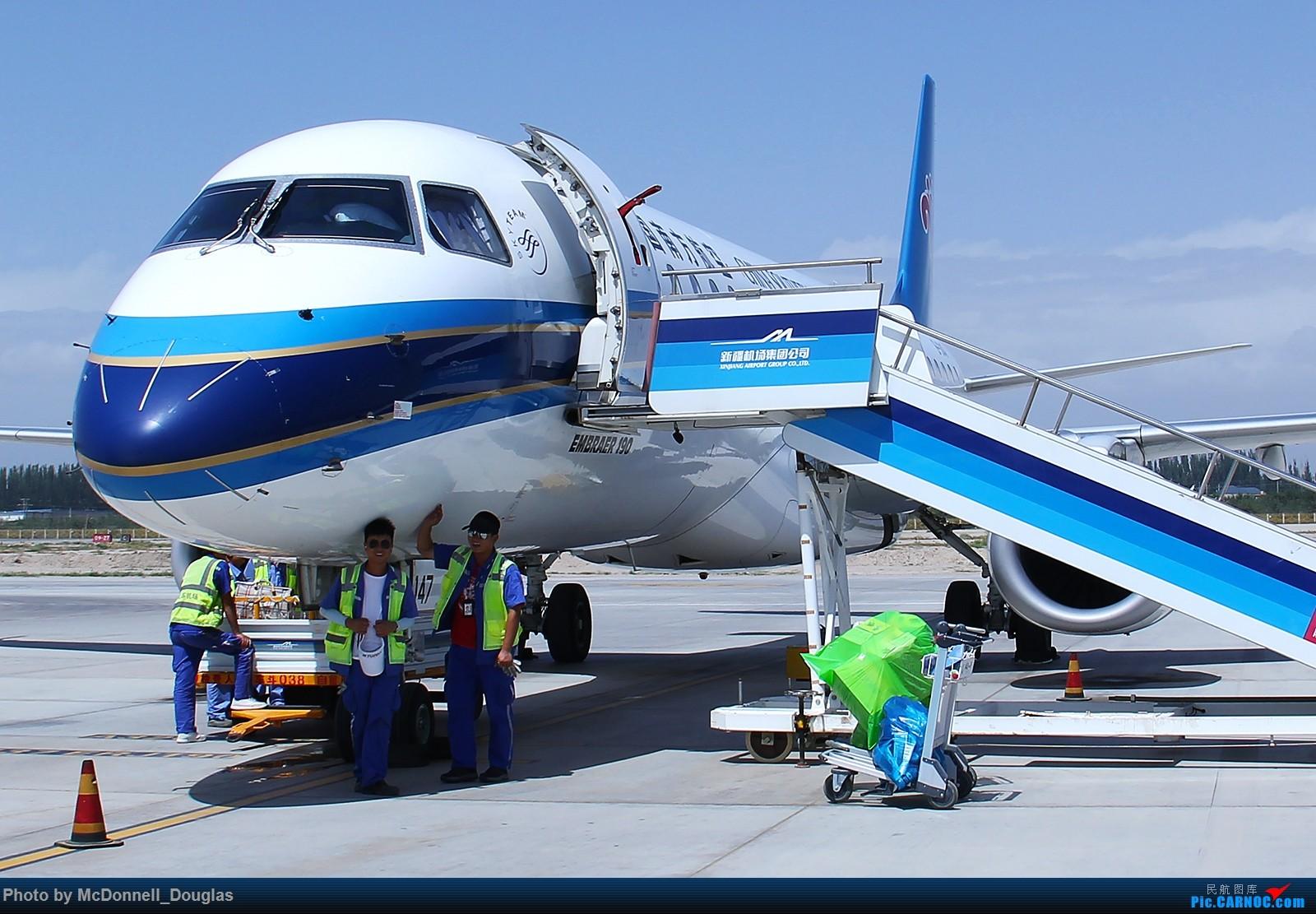 Re:[原创]【上海飞友会】【zc带你走天下(3)】再访祖辈年轻时工作的土地,父母年少时生活戈壁,跨越大半个中国去看新疆,回程小游蓉城(下) EMBRAER ERJ-190LR B-3147 中国阿克苏机场