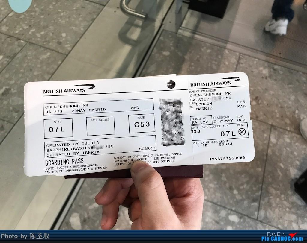 Re:[原创]【Kris游记39】IBERIA西班牙国家航空 IB3167 A346 经历英航IT大bug,首次体验IBERIA的短途商务舱
