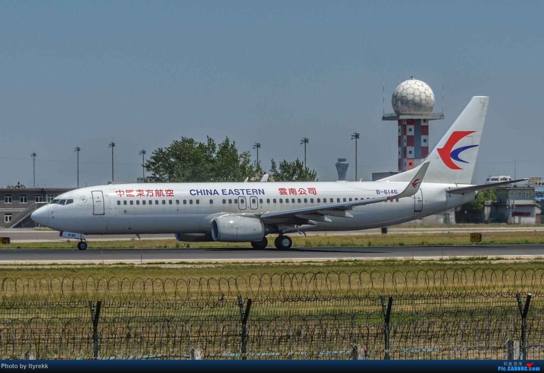 Re:[原创]很久没有发图了。PEK二十里铺的一下午 BOEING 737-800 B-6146 中国北京首都国际机场