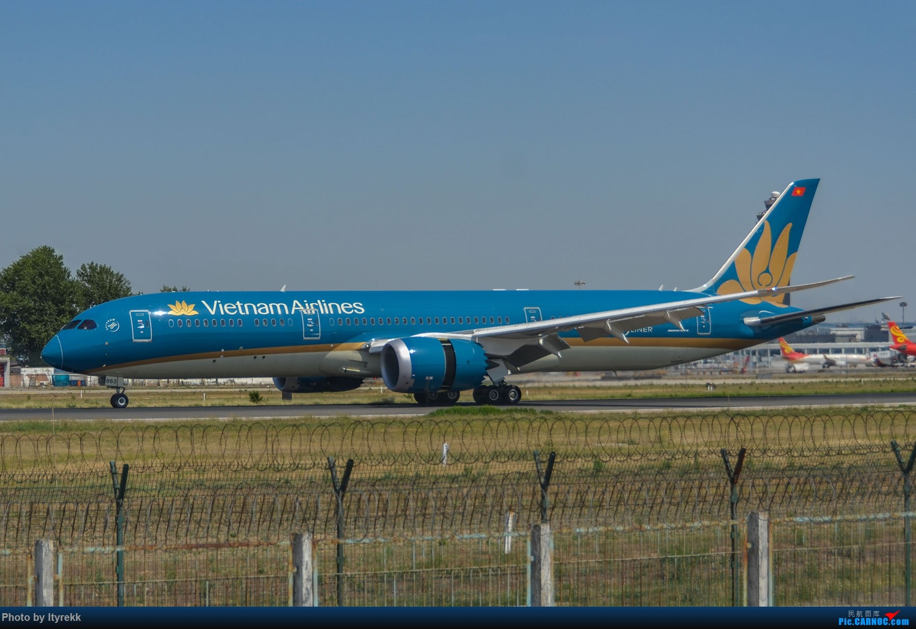 Re:[原创]很久没有发图了。PEK二十里铺的一下午 BOEING 787-9 VN-A863 中国北京首都国际机场