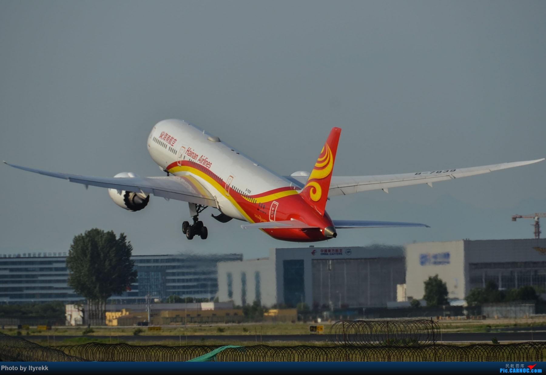 Re:[原创]很久没有发图了。PEK二十里铺的一下午 BOEING 787-9 B-7839 中国北京首都国际机场