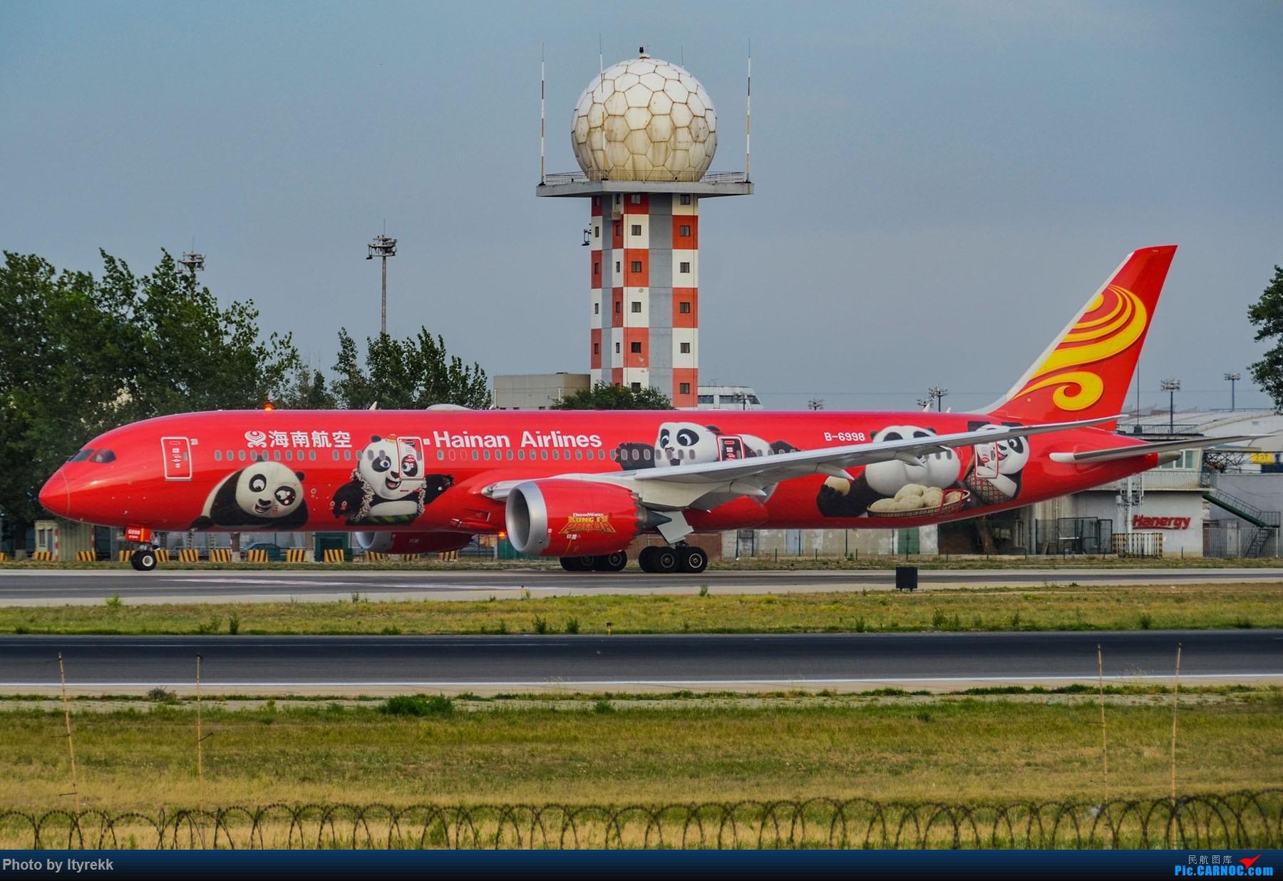 Re:[原创]很久没有发图了。PEK二十里铺的一下午 BOEING 787-9 B-6998 中国北京首都国际机场
