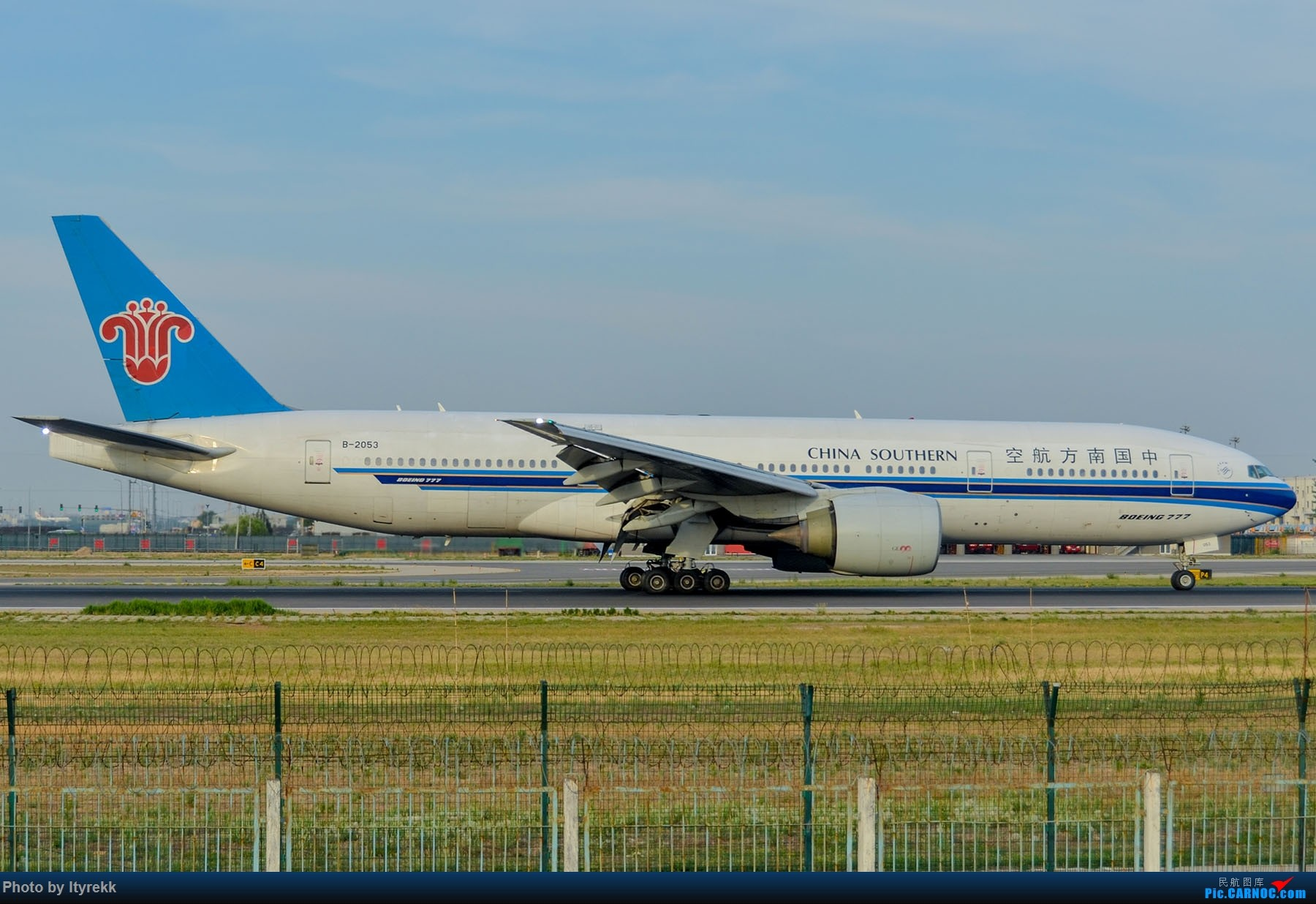 Re:[原创]很久没有发图了。PEK二十里铺的一下午 BOEING 777-200 B-2053 中国北京首都国际机场