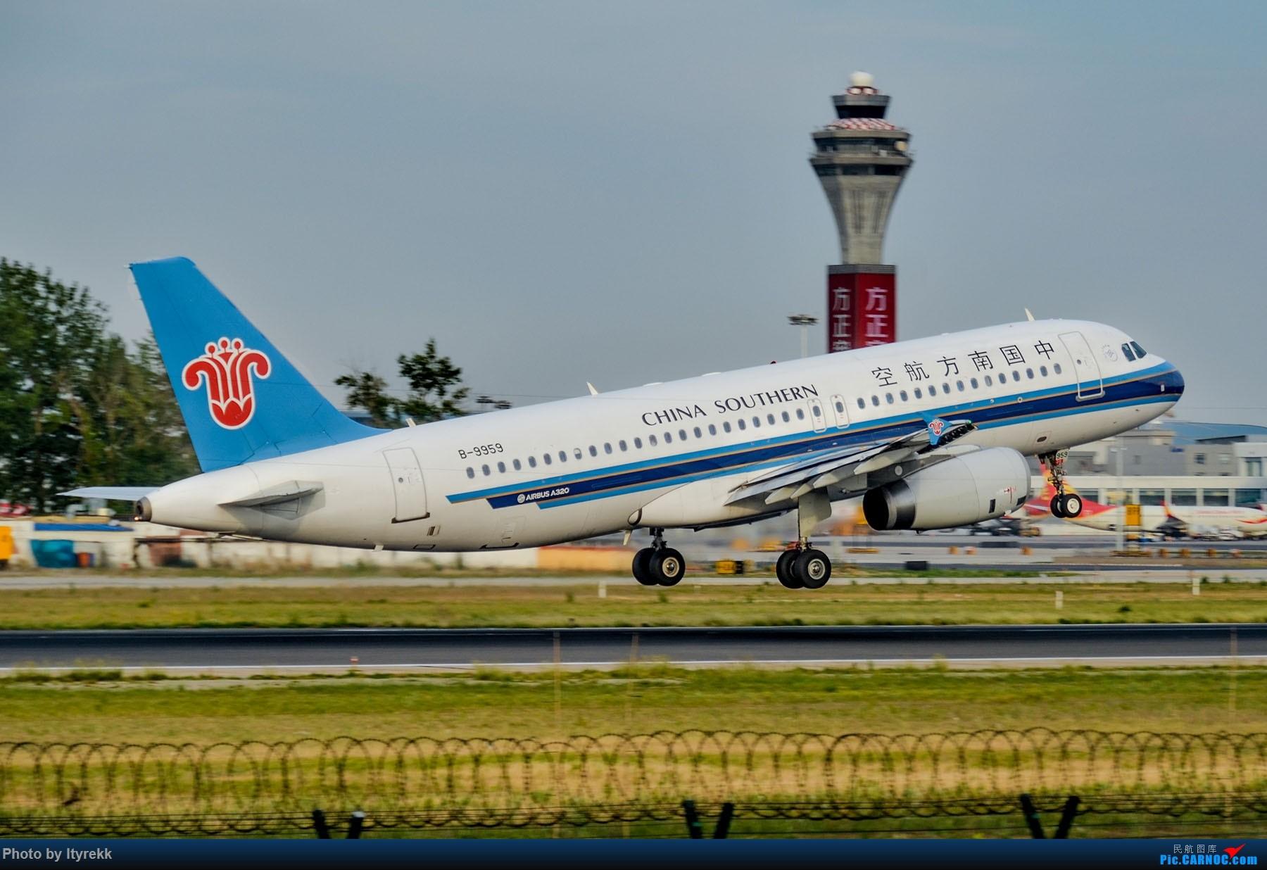 Re:[原创]很久没有发图了。PEK二十里铺的一下午 AIRBUS A320-200 B-9959 中国北京首都国际机场