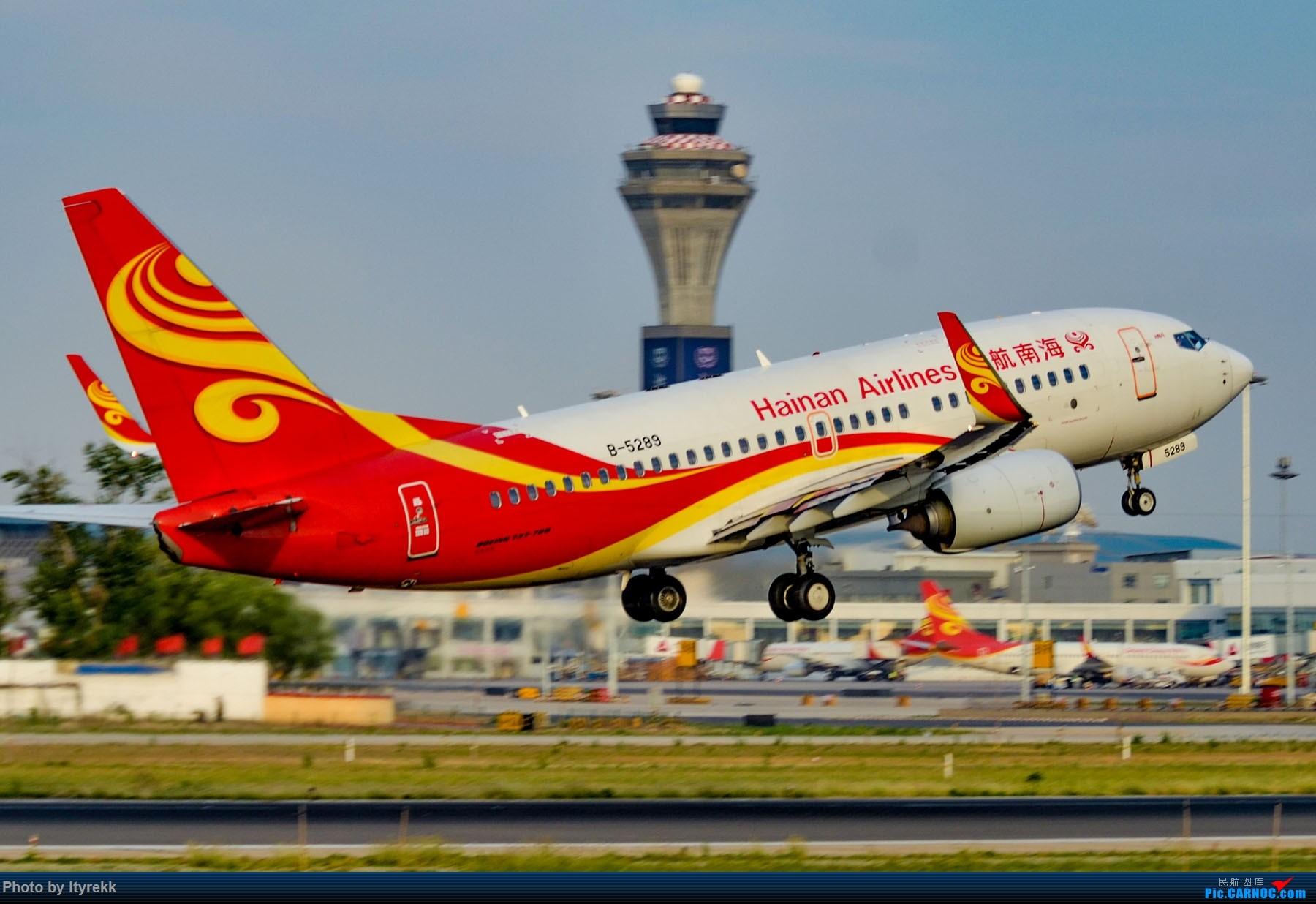 Re:[原创]很久没有发图了。PEK二十里铺的一下午 BOEING 737-700 B-5289 中国北京首都国际机场
