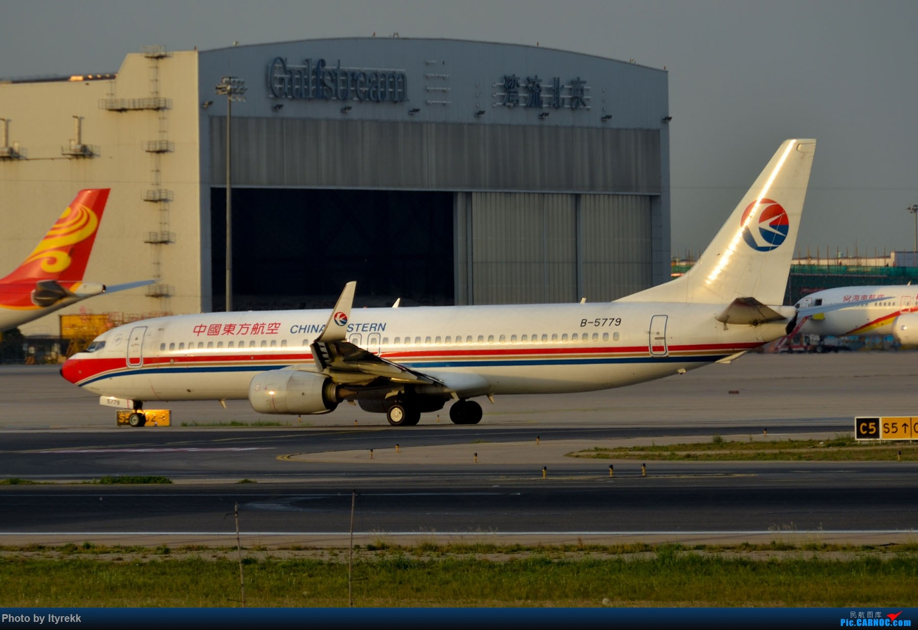 Re:[原创]很久没有发图了。PEK二十里铺的一下午 BOEING 737-800 B-5779 中国北京首都国际机场
