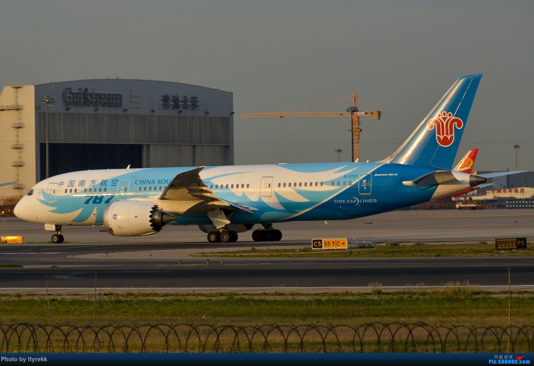 Re:[原创]很久没有发图了。PEK二十里铺的一下午 BOEING 787-8 B-2727 中国北京首都国际机场