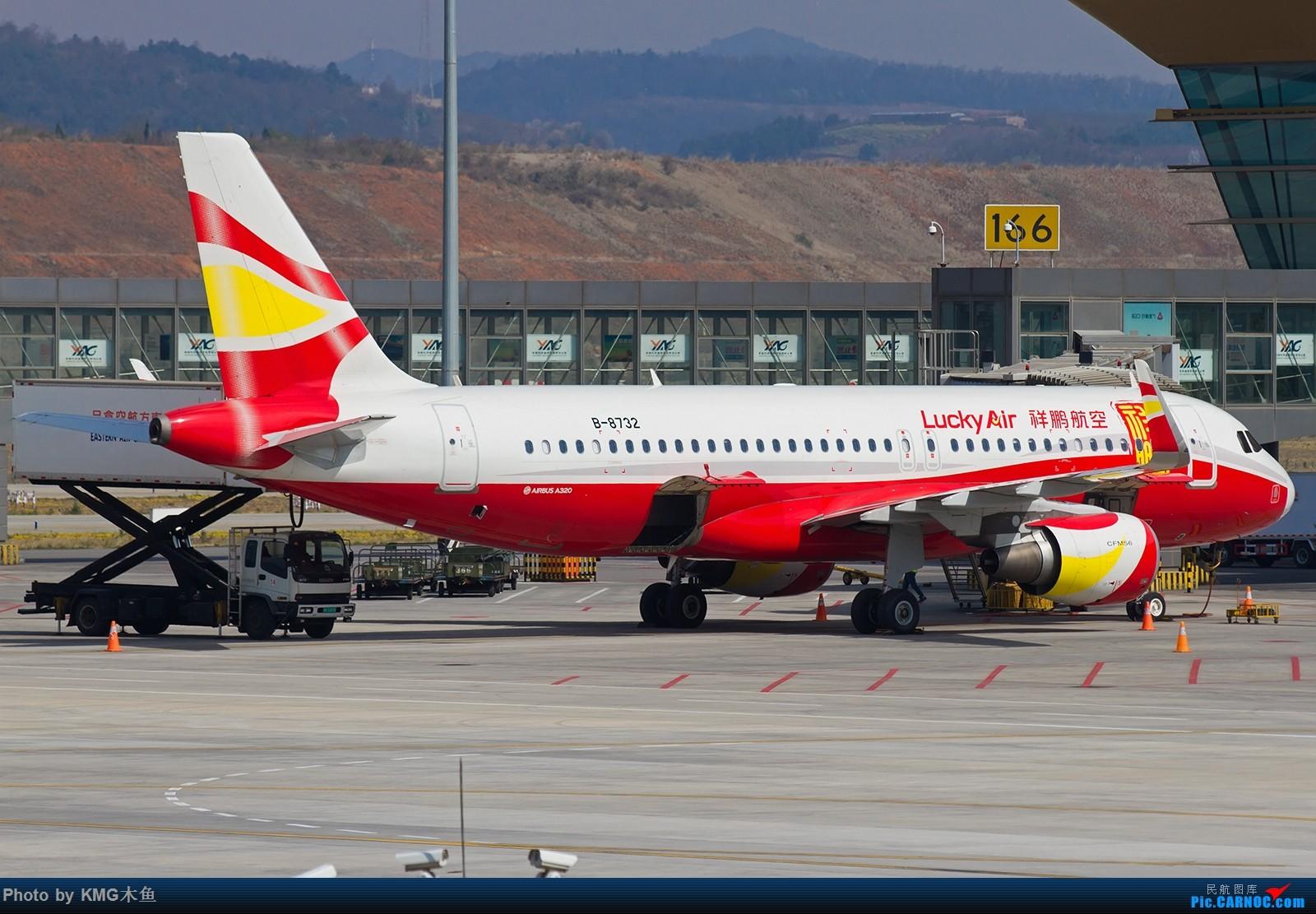 Re:[原创]【昆明长水国际机场——KMG木鱼拍机】发一波库存图 AIRBUS A320-200 B-8732 中国昆明长水国际机场
