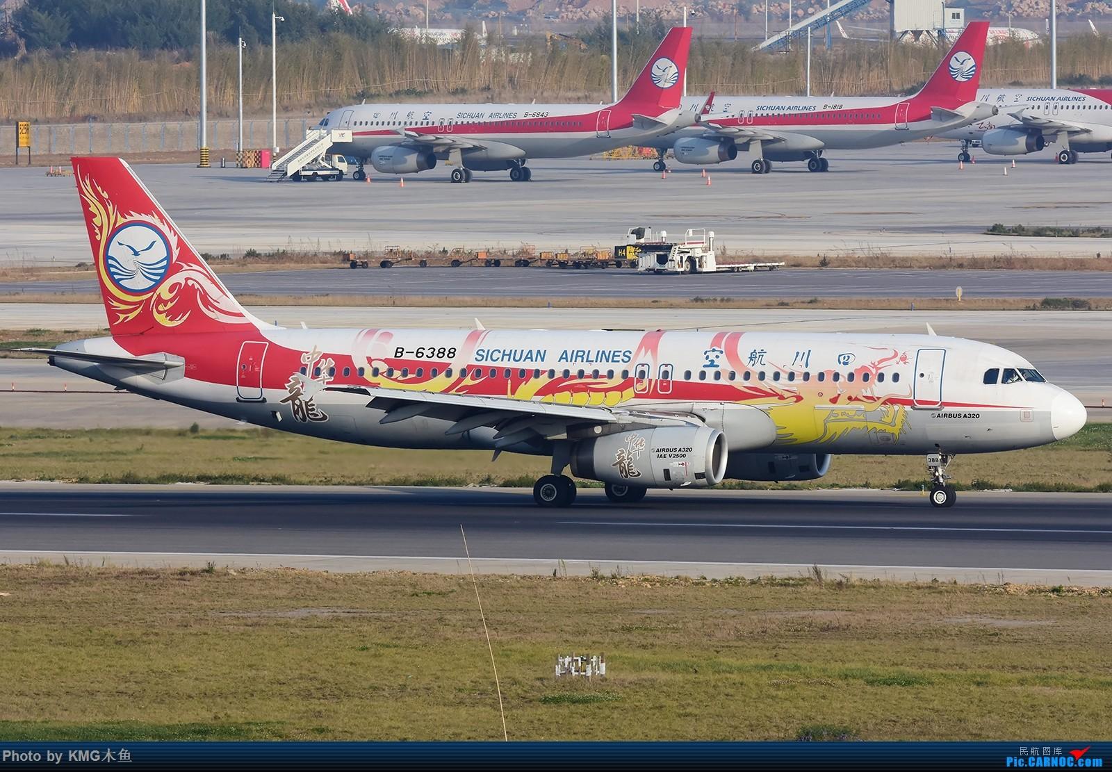 Re:[原创]【昆明长水国际机场——KMG木鱼拍机】发一波库存图 AIRBUS A320-200 B-6388 中国昆明长水国际机场
