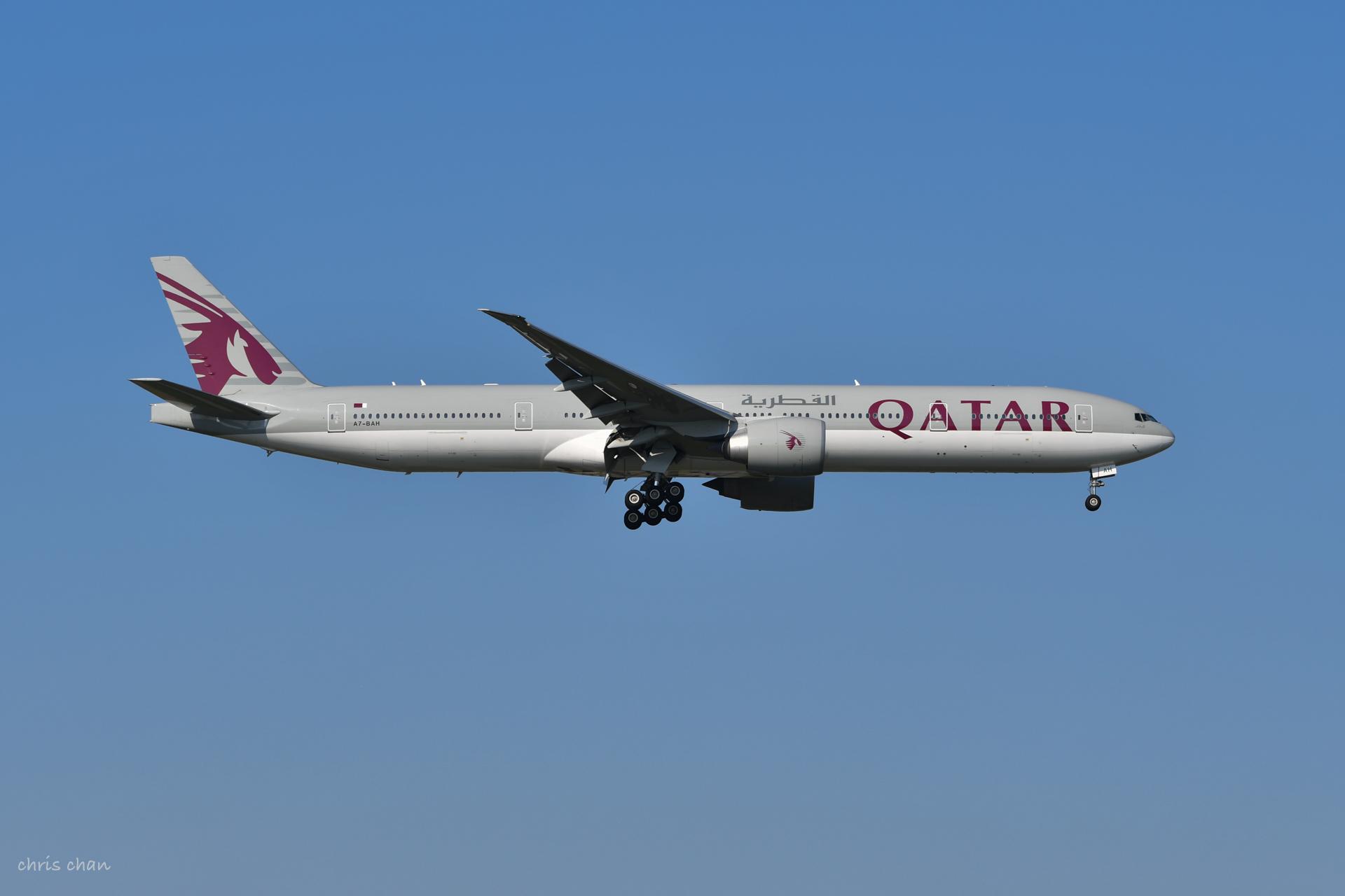 Re:[原创]新人报道——PVG首拍 BOEING 777-300ER A7-BAH PVG