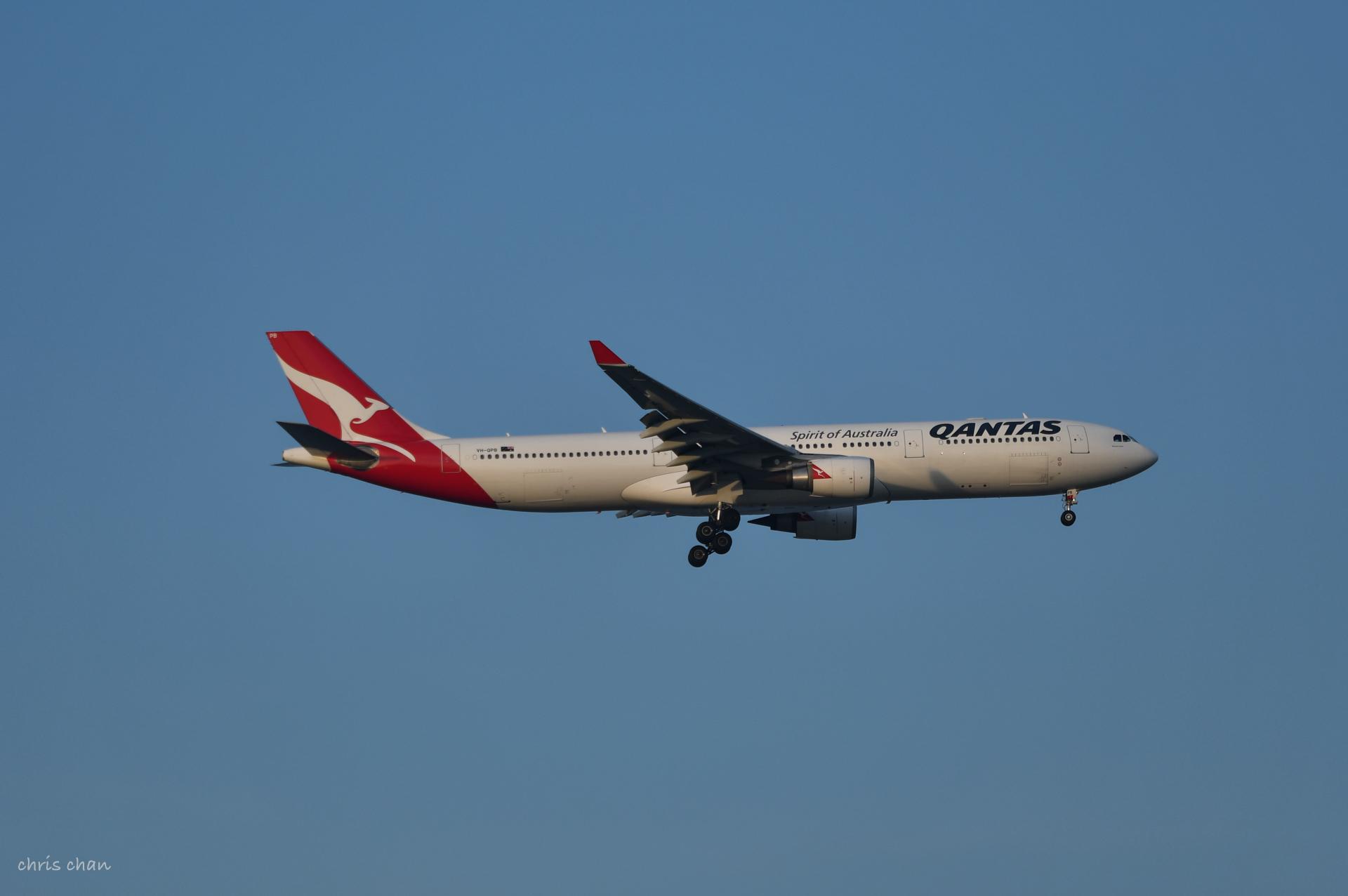 Re:[原创]新人报道——PVG首拍 AIRBUS A330-300 VH-QPB PVG
