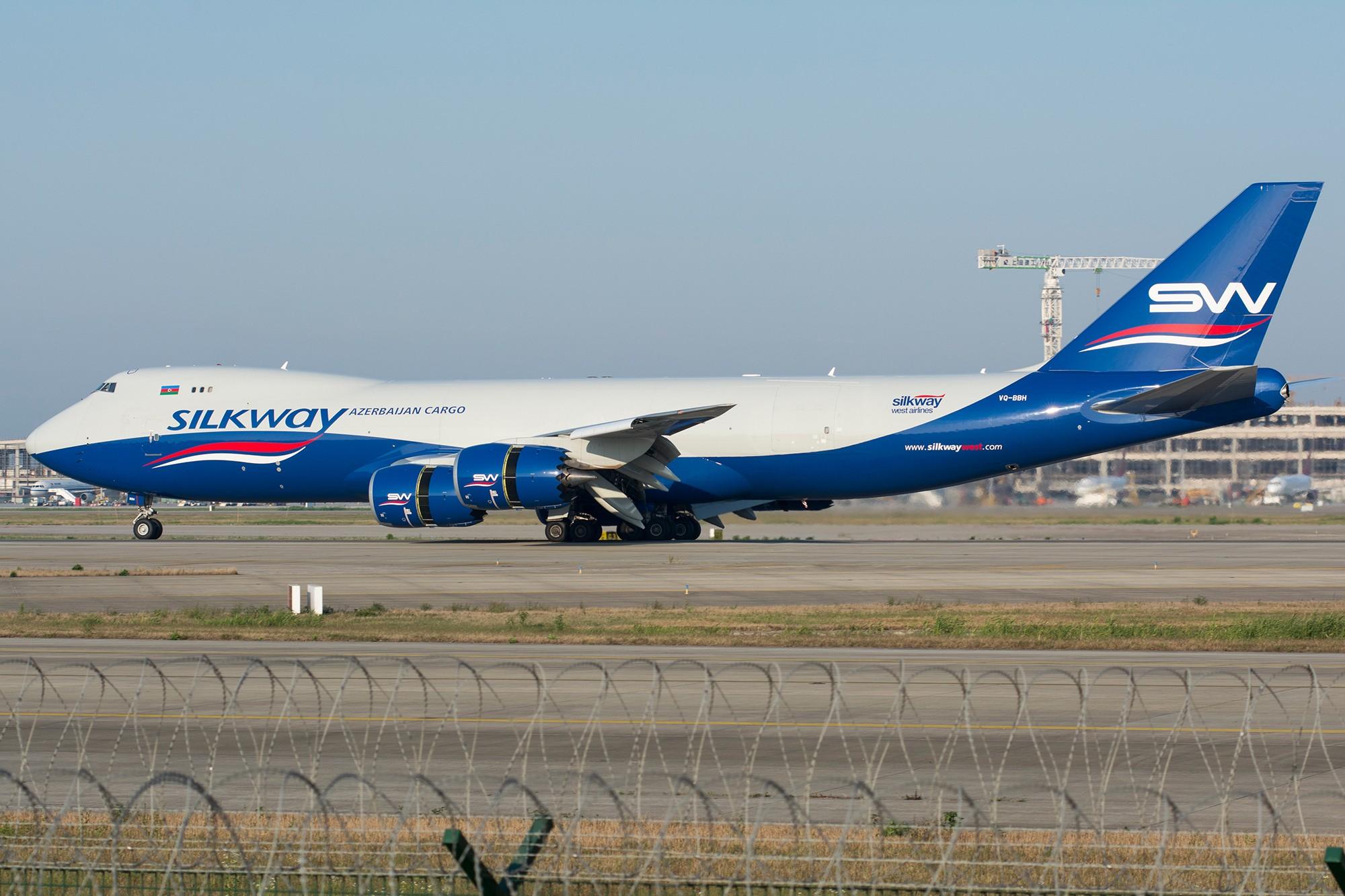 Re:[PVG] 首见丝路航空B748,早起的鸟儿有虫吃! BOEING 747-8F VQ-BBH 中国上海浦东国际机场