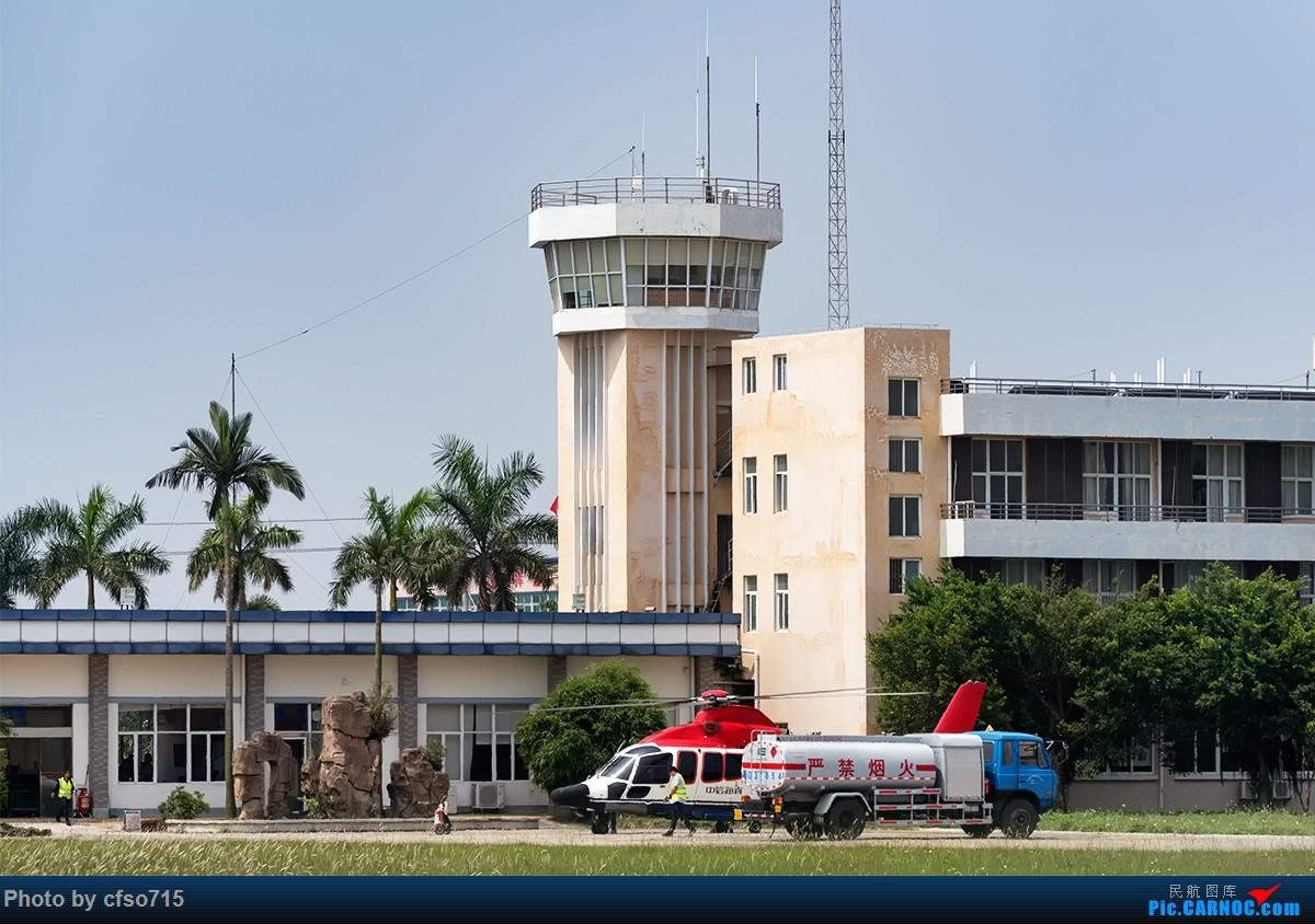 [原创]海上油井通勤直升机    中国湛江新塘机场