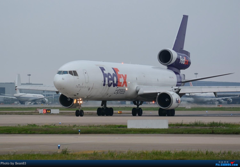 [原创](PVG 1500*) 卡狗大头照 MD MD-11  上海浦东国际机场