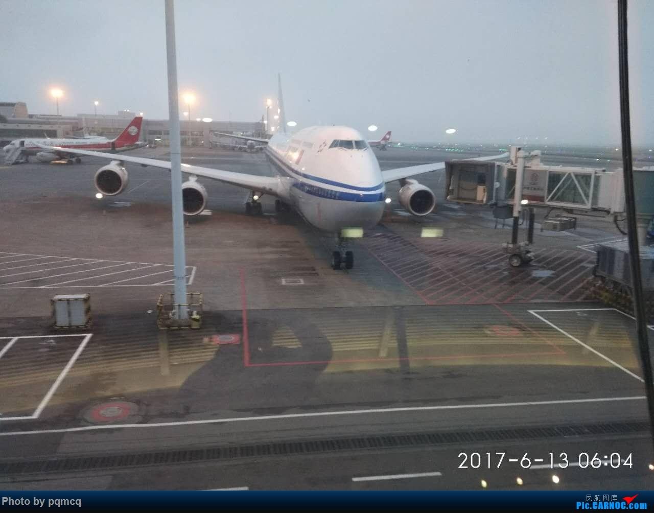 Re:6月13日CKG-PEK CA4144航班 BOEING 747-800  重庆机场