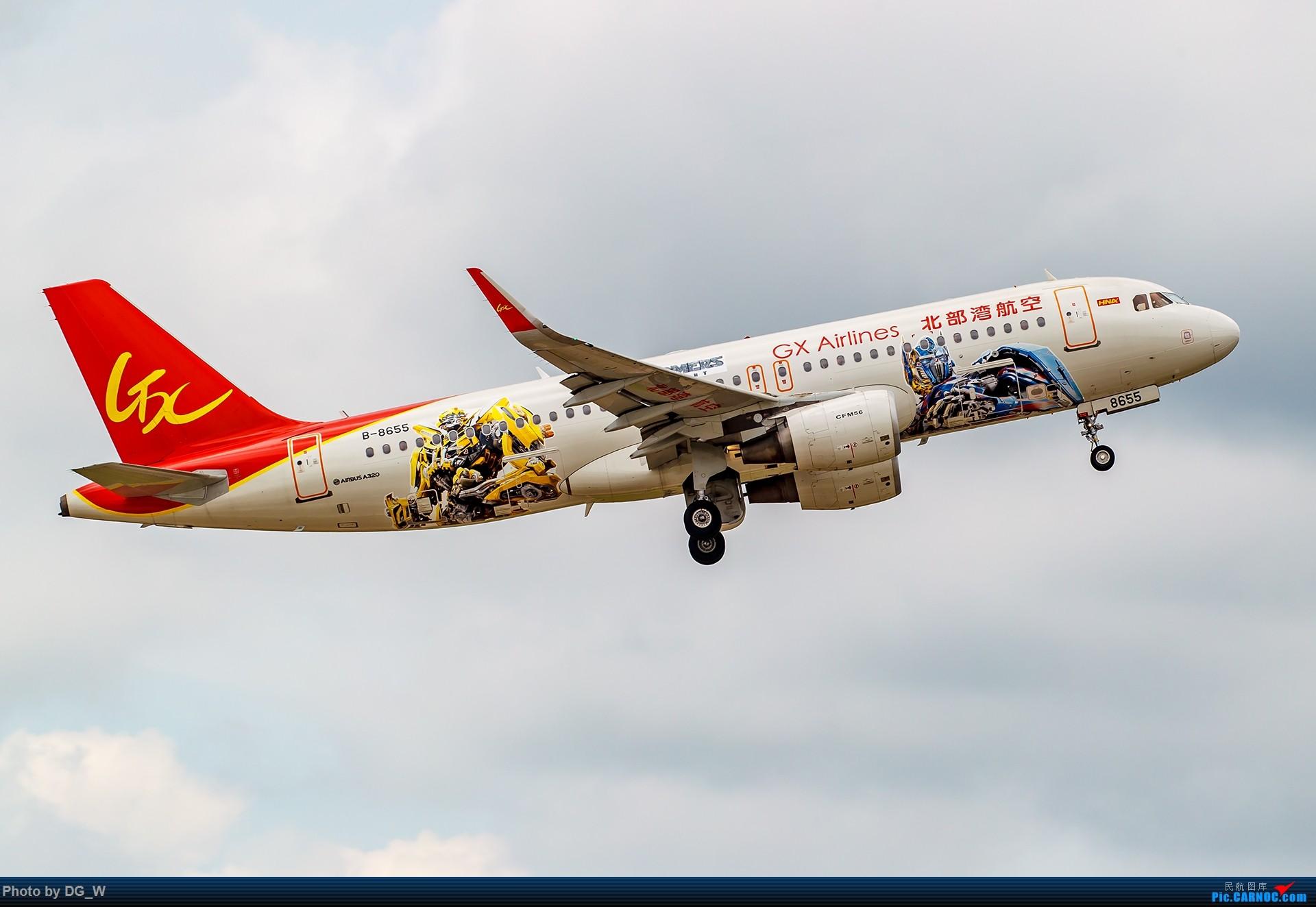Re:[原创]【南宁飞友】汽车人,起飞——记北部湾航空变形金刚彩绘机首航 AIRBUS A320-200 B-8655 中国南宁吴圩国际机场