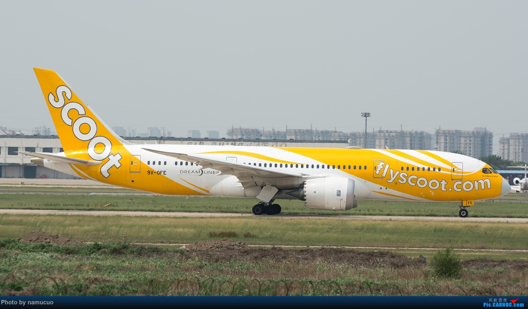 Re:[原创]【TSN】开发新机位 BOEING 787-8 9V-OFE