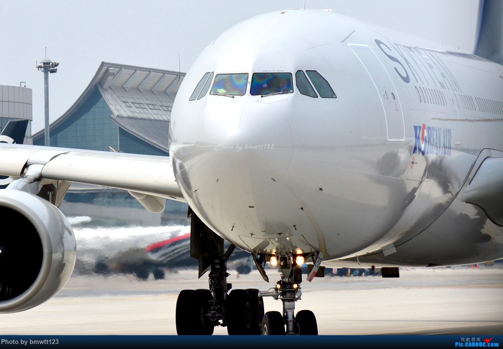 [原创]【SHE沈阳】大韩332邮戳光临桃仙机场 AIRBUS A330-200 HL8212 中国沈阳桃仙国际机场