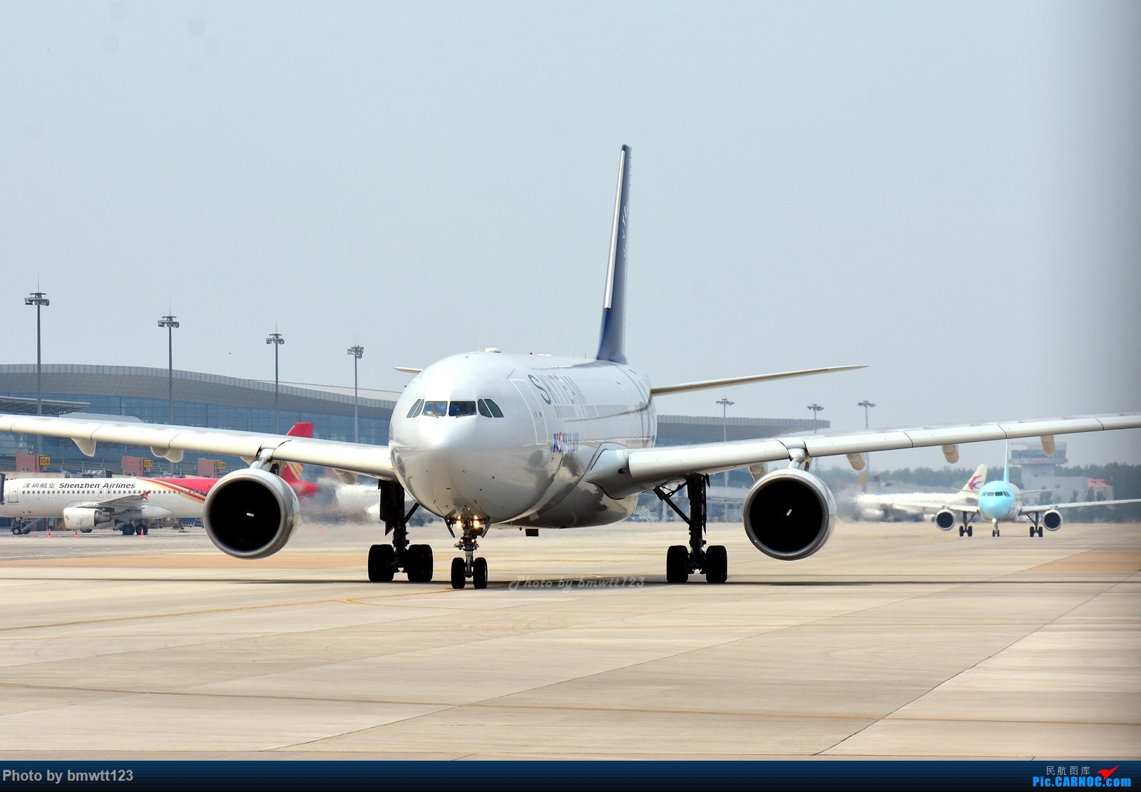 Re:[原创]【SHE沈阳】大韩332邮戳光临桃仙机场 AIRBUS A330-200 HL8212 中国沈阳桃仙国际机场