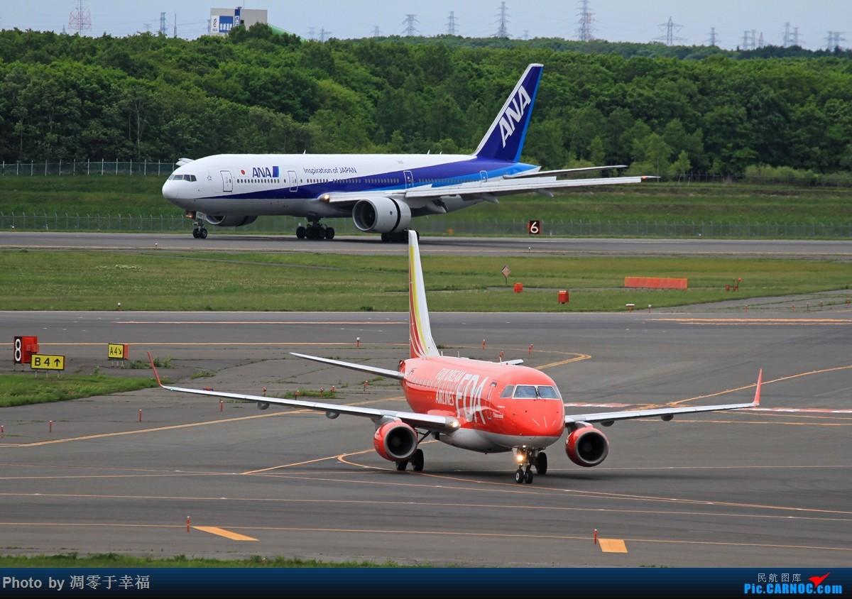 Re:[原创]冒个泡,欢迎拍砖 EMBRAER E-170 JA05FJ 日本新千岁机场