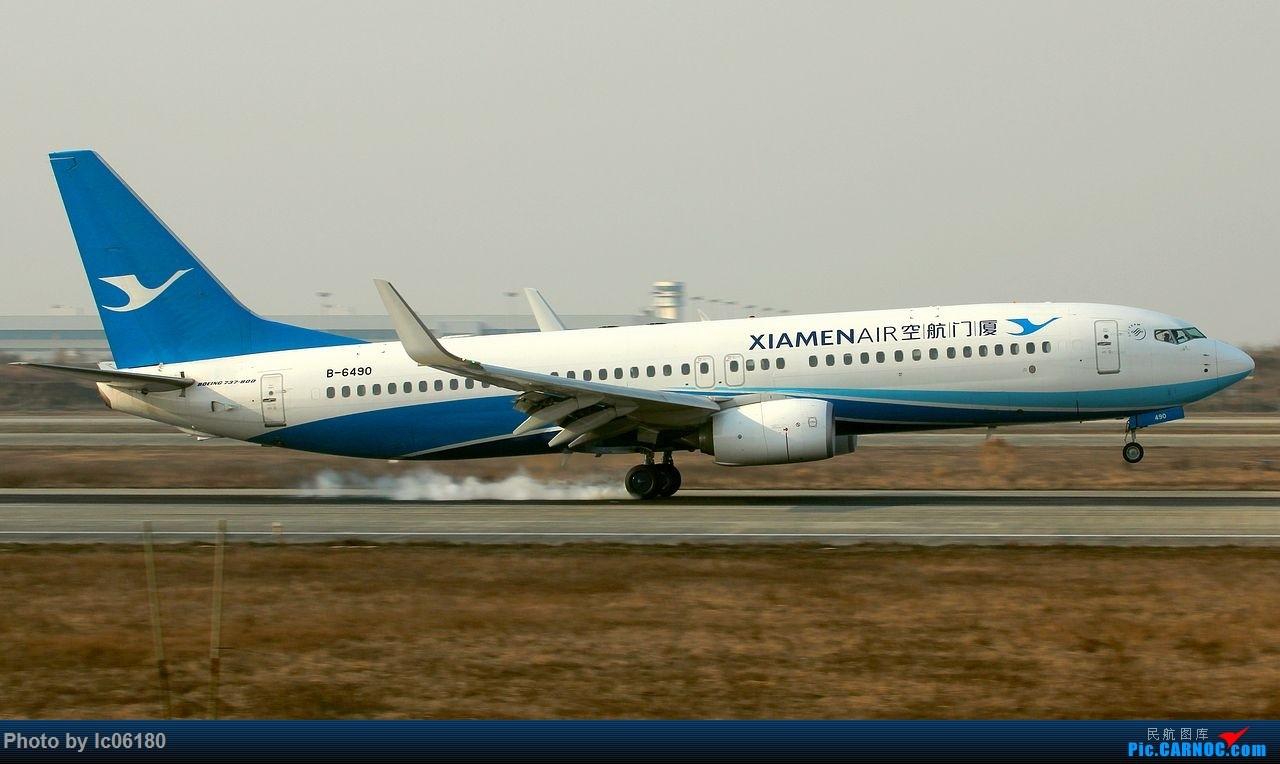 Re:[原创]『lc06180』初探NKG BOEING 737-800 B-6490 中国南京禄口国际机场