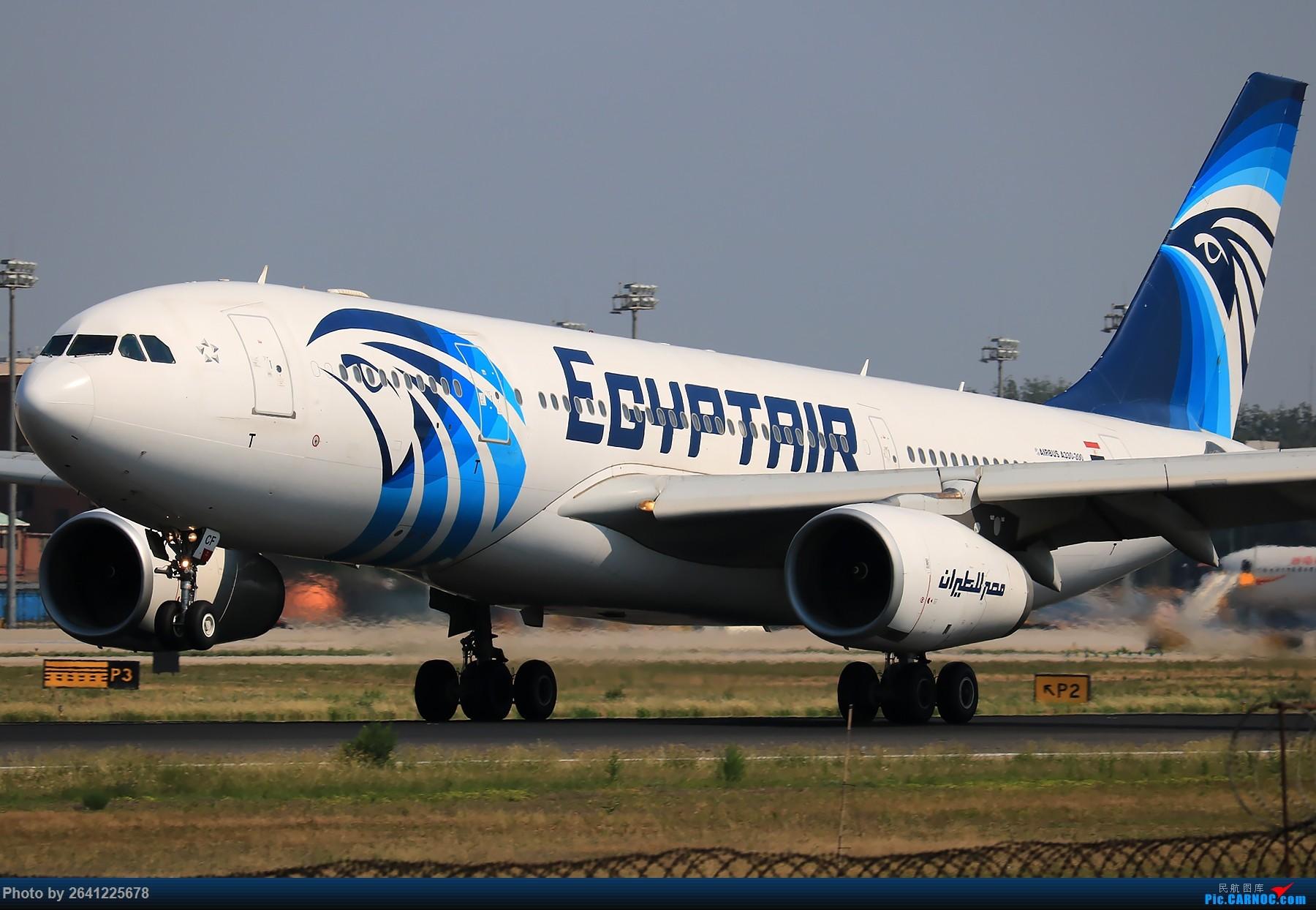 [原创]【一图党】埃及航空AIRBUS A330-200 SU-GCF 1800*1200 AIRBUS A330-200 SU-GCF 中国北京首都国际机场