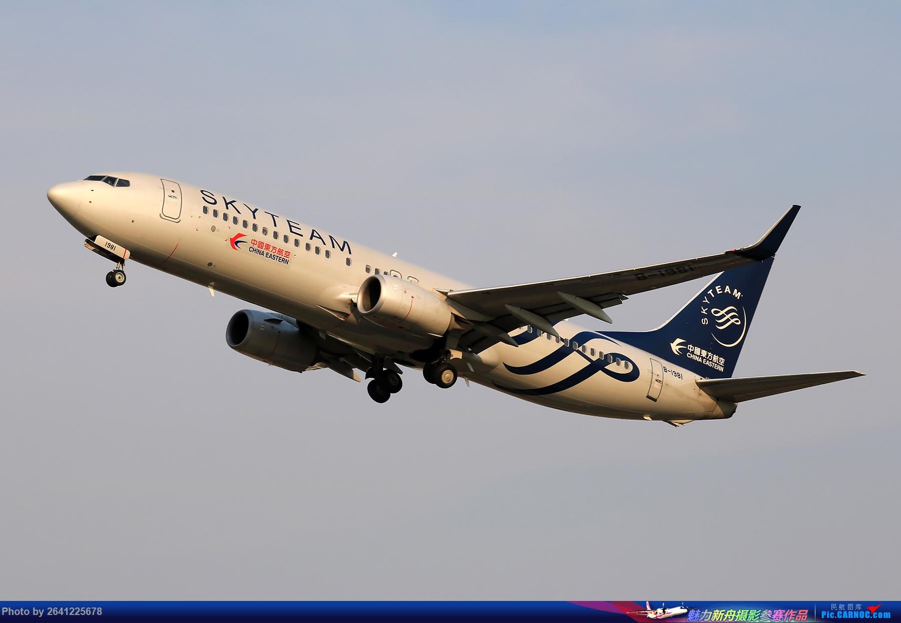 Re:[原创][PEK]杨二营+铁匠营一组(包含大头)正在更新中 BOEING 737-800 B-1981 中国北京首都国际机场