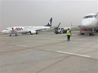 山東航空波音737-800,注冊號B-7809