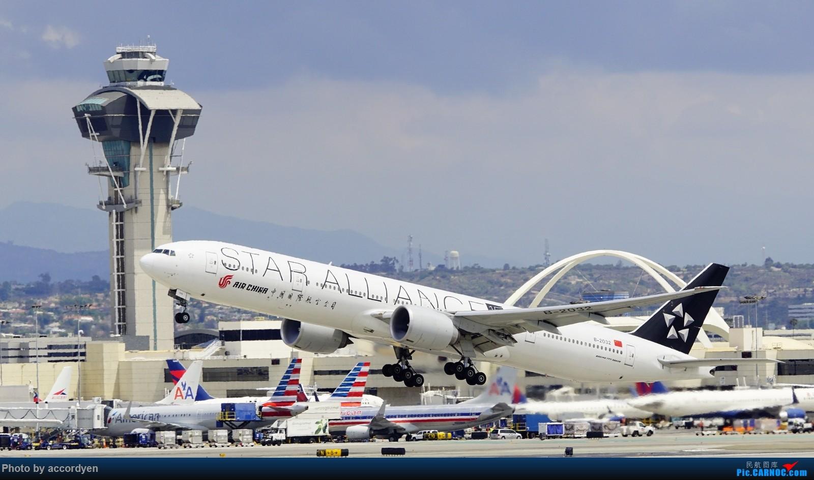 Re:LAX BOEING 777-300ER B-2032 美国洛杉矶机场