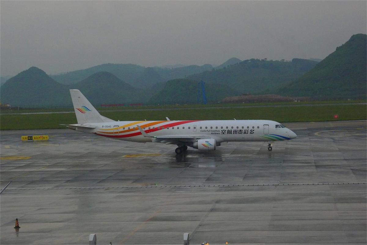 Re:[原创]平生首次旅游。凤凰古城两天一夜游 EMBRAER E-190 B-3240 中国贵阳龙洞堡国际机场