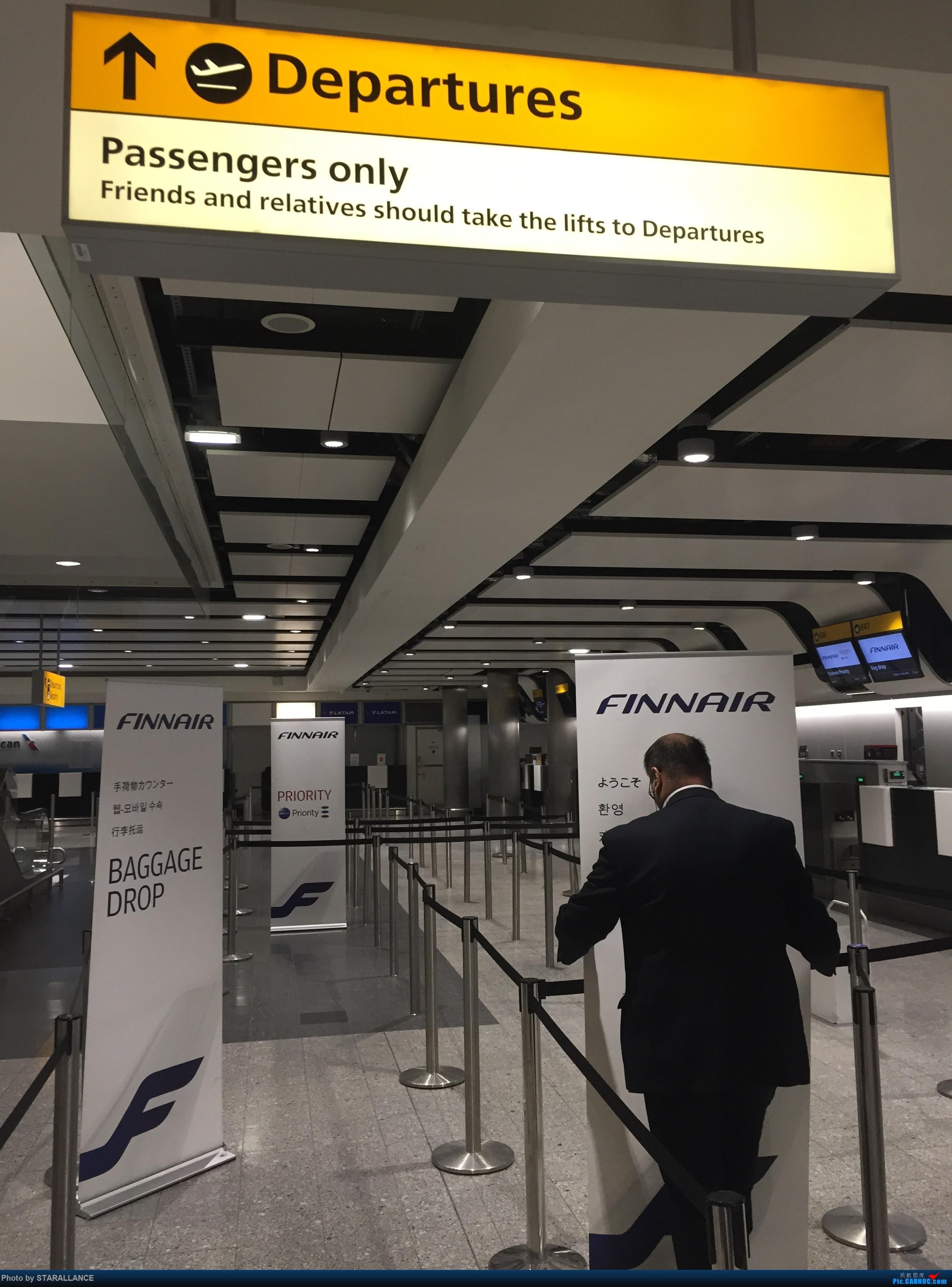 Re:[原创]A320 伦敦飞往赫尔辛基 附驾驶舱图    英国伦敦斯坦斯特德机场