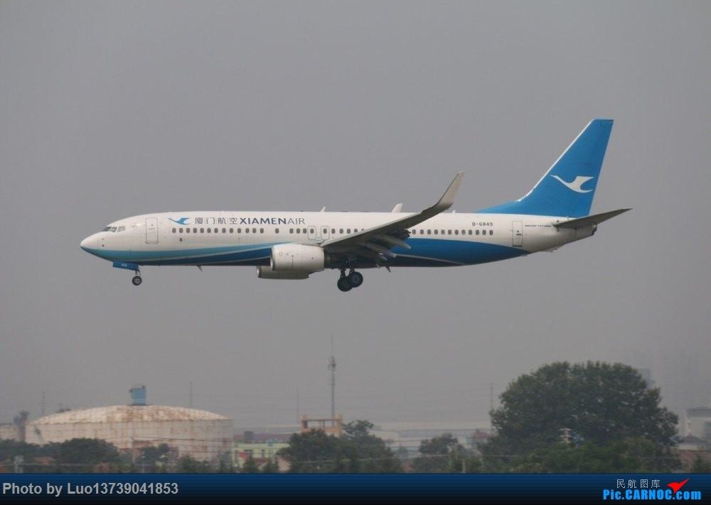 [原创]6849 BOEING 737-800 B-6849 中国青岛流亭国际机场