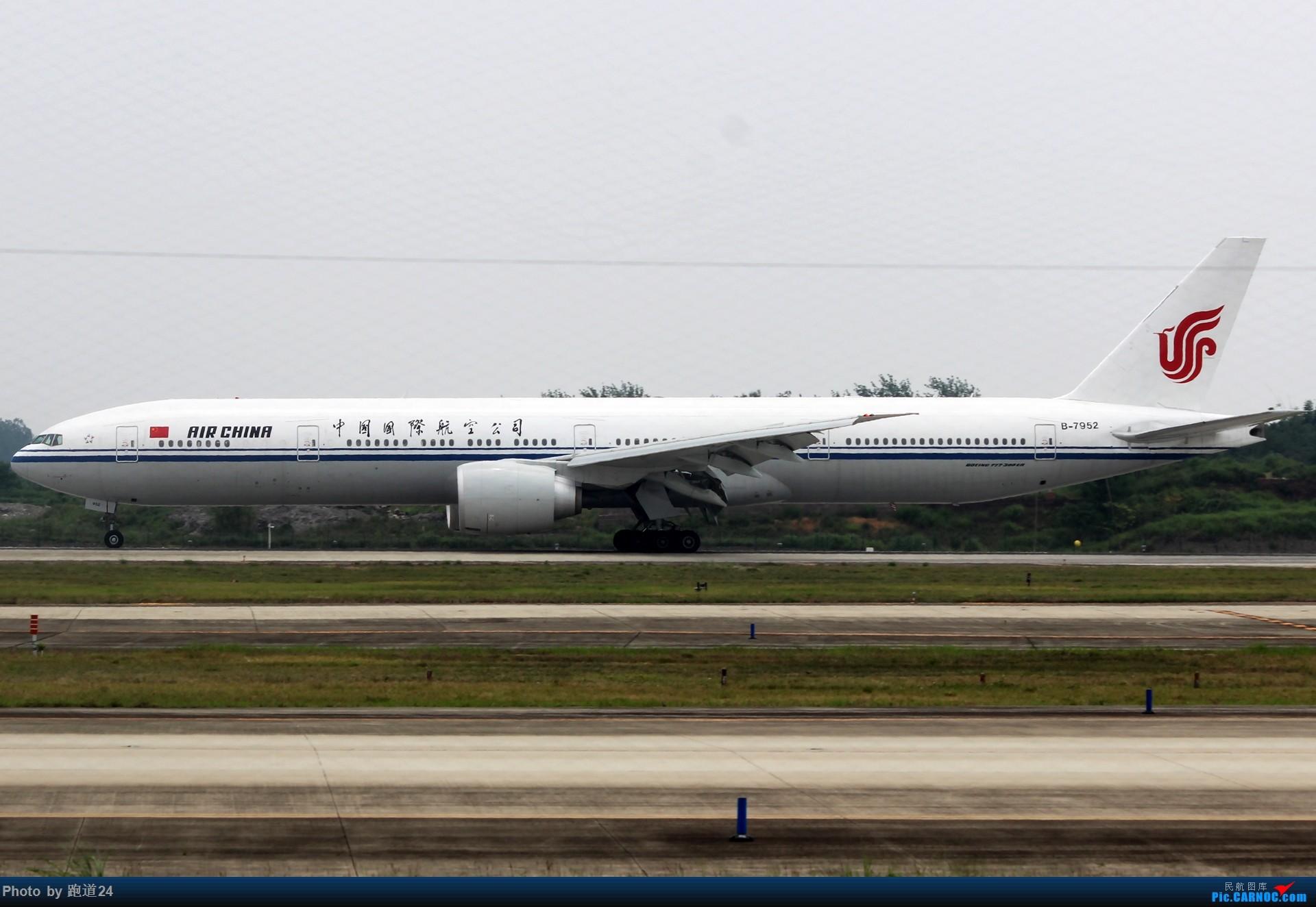 Re:【多图党】迎来送往 国航 B77W B-7952 1920*1280 BOEING 777-300ER B-7952 中国成都双流国际机场