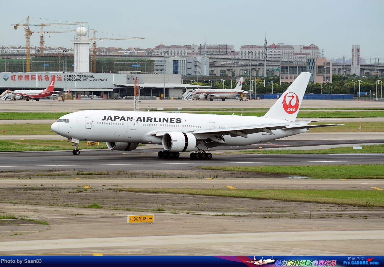 Re:[原创](SHA1500*) 久违的虹桥 BOEING 777-200 JA709J 上海虹桥国际机场