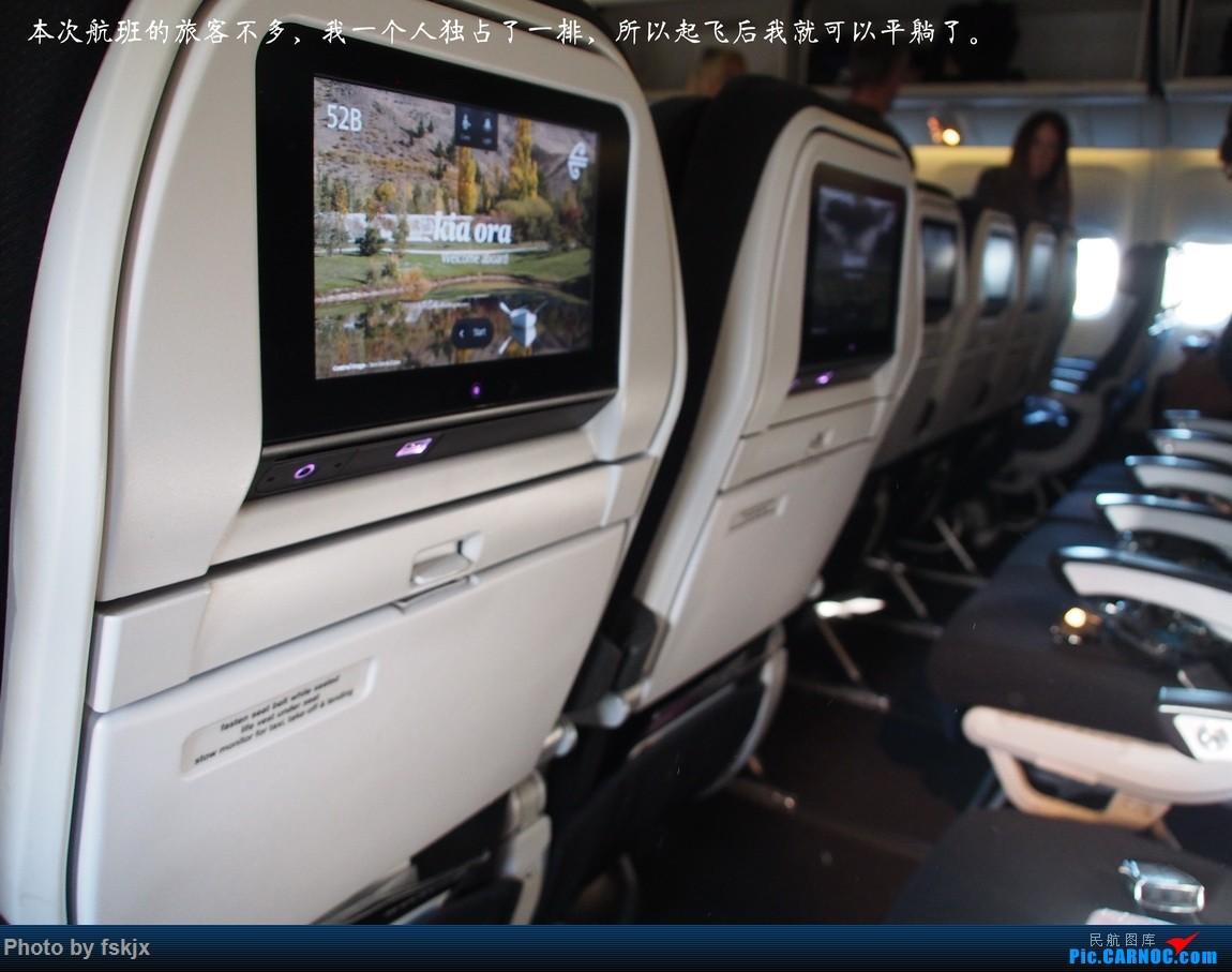 【fskjx的飞行游记☆50】为了一刹那的遇见·悉尼·奥克兰 BOEING 777-200 ZK-OKE 新西兰奥克兰机场