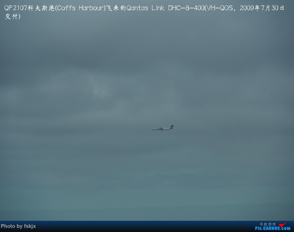 【fskjx的飞行游记☆50】为了一刹那的遇见·悉尼·奥克兰 DE HAVILLAN CANADA DHC-8-400 VH-QOS