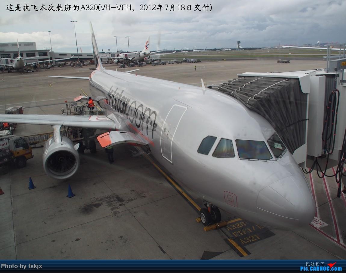 Re:【fskjx的飞行游记☆50】为了一刹那的遇见·悉尼·奥克兰 AIRBUS A320 VH-VFH 澳大利亚悉尼金斯福德·史密斯机场