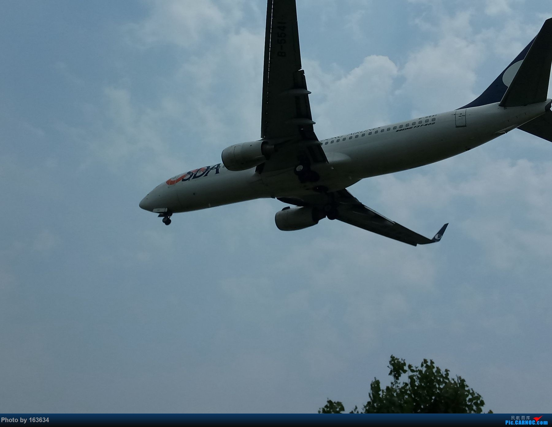 [原创]第九次济南拍机。。。(对不起大家,上海的图还没来得及处理,大家先看看济南的吧) BOEING 737-800 B-5541 TNA