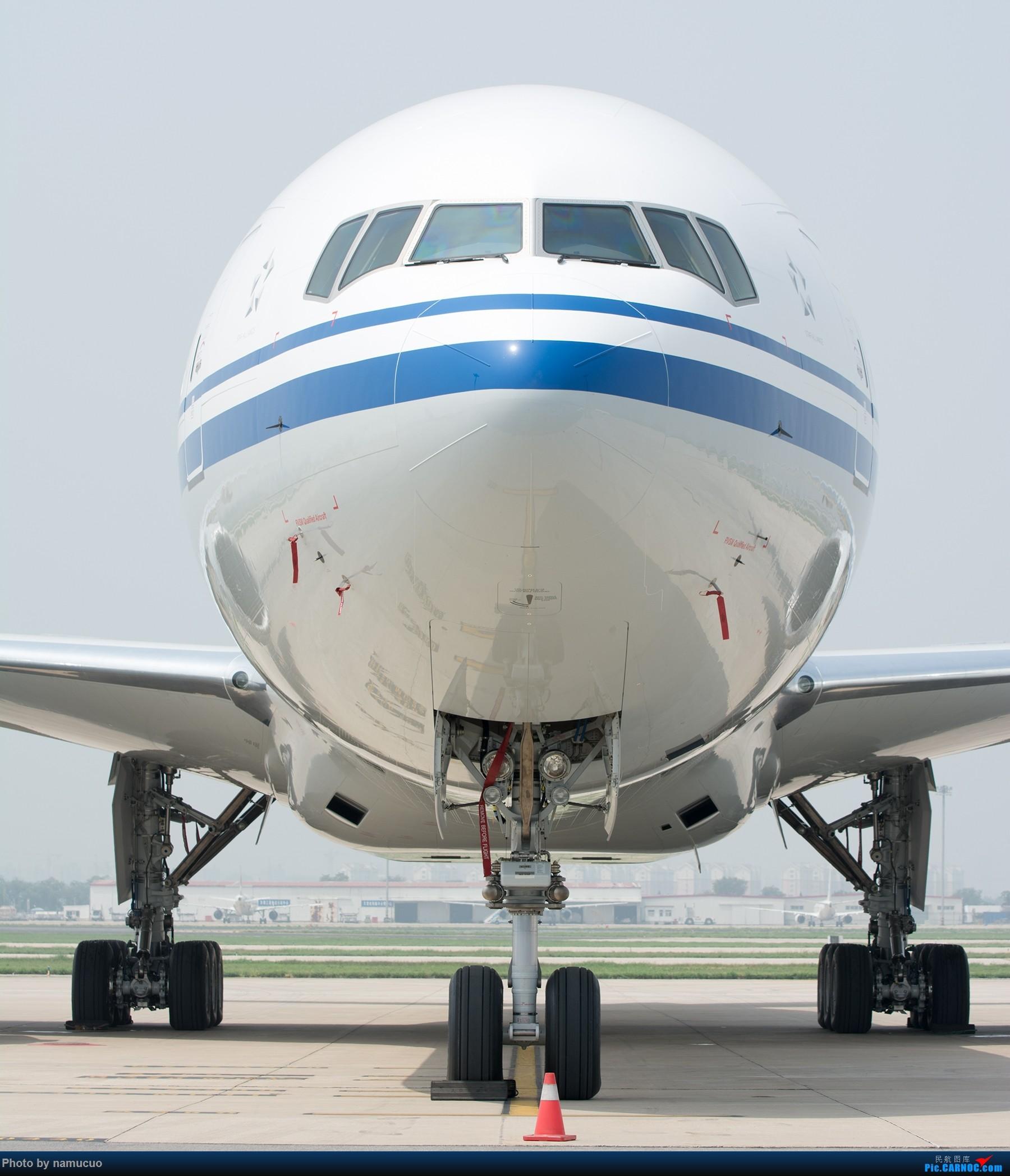 [原创]【TSN】国航B-1428号波音777-300ER,新机入关 BOEING 777-300ER B-1428 天津滨海国际机场