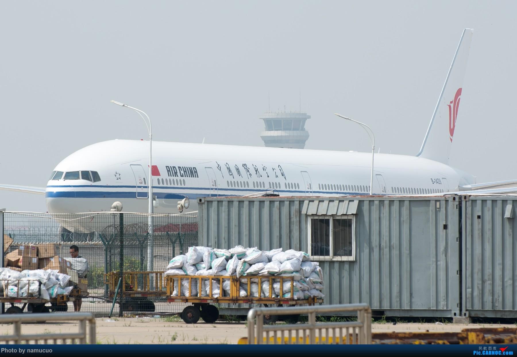 Re:[原创]【TSN】国航B-1428号波音777-300ER,新飞机吗?注册号没查到 BOEING 777-300ER B-1428 天津滨海国际机场
