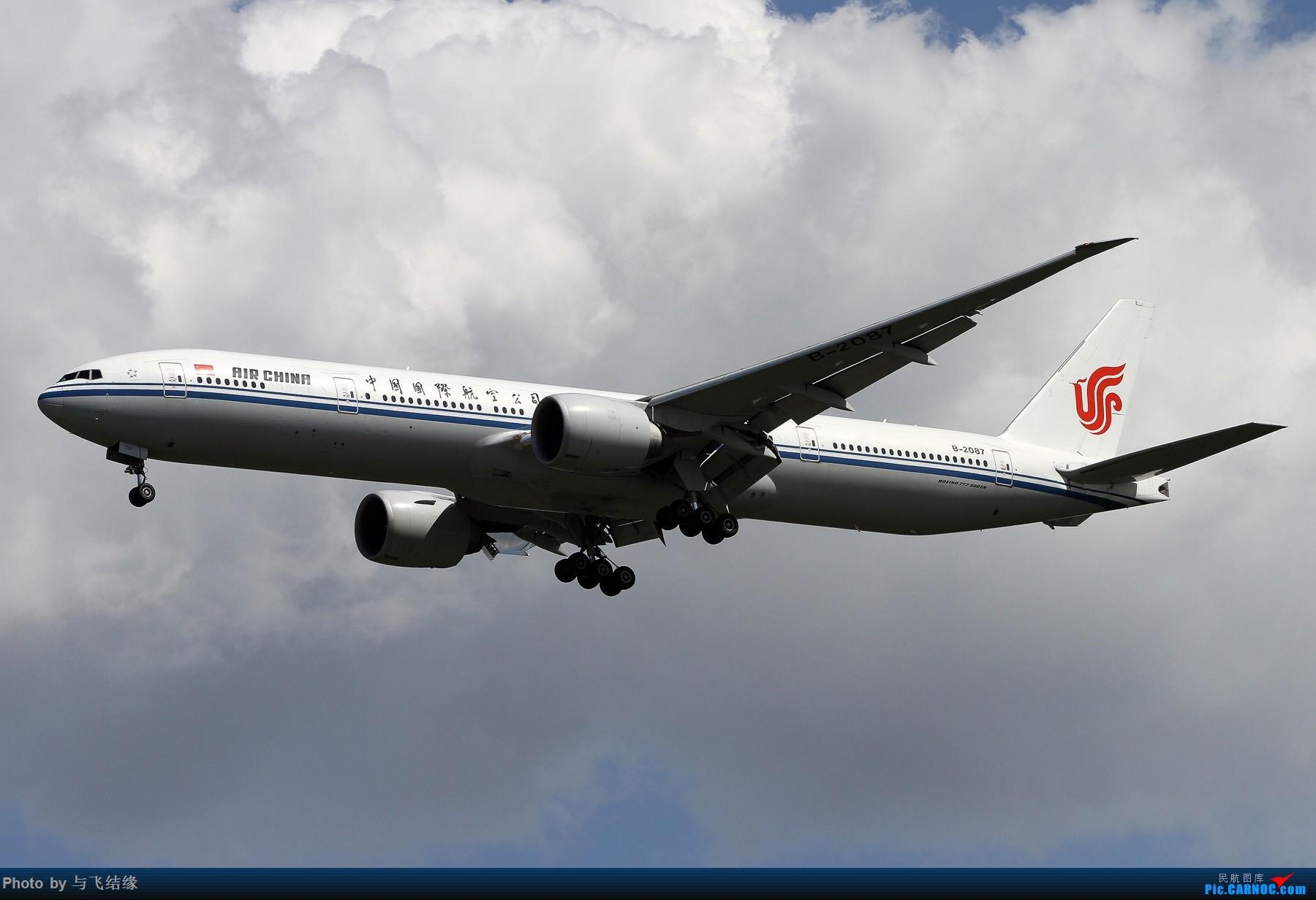 Re:发一组波音777,喜欢777的朋友进来看看。(盗图无耻) BOEING 777-300ER B-2087 中国北京首都国际机场