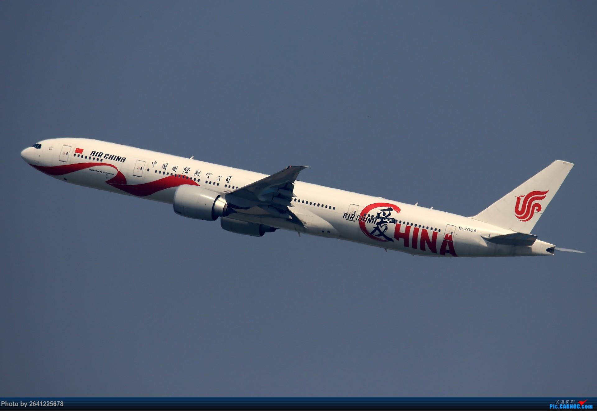 [原创]【TAMRON 156 G2+77D 】*****试新机+新镜*****更新完毕 BOEING 777-300ER B-2006 中国北京首都国际机场