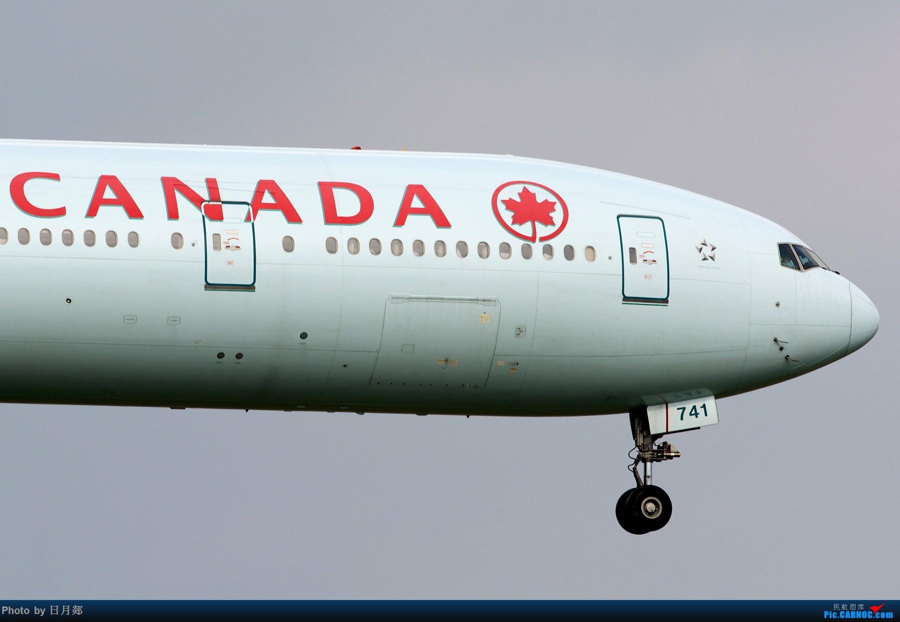 Re:[原创]【虹桥】赶在雷雨来临之前来两张 BOEING 777-300ER C-FIVR 中国上海虹桥国际机场