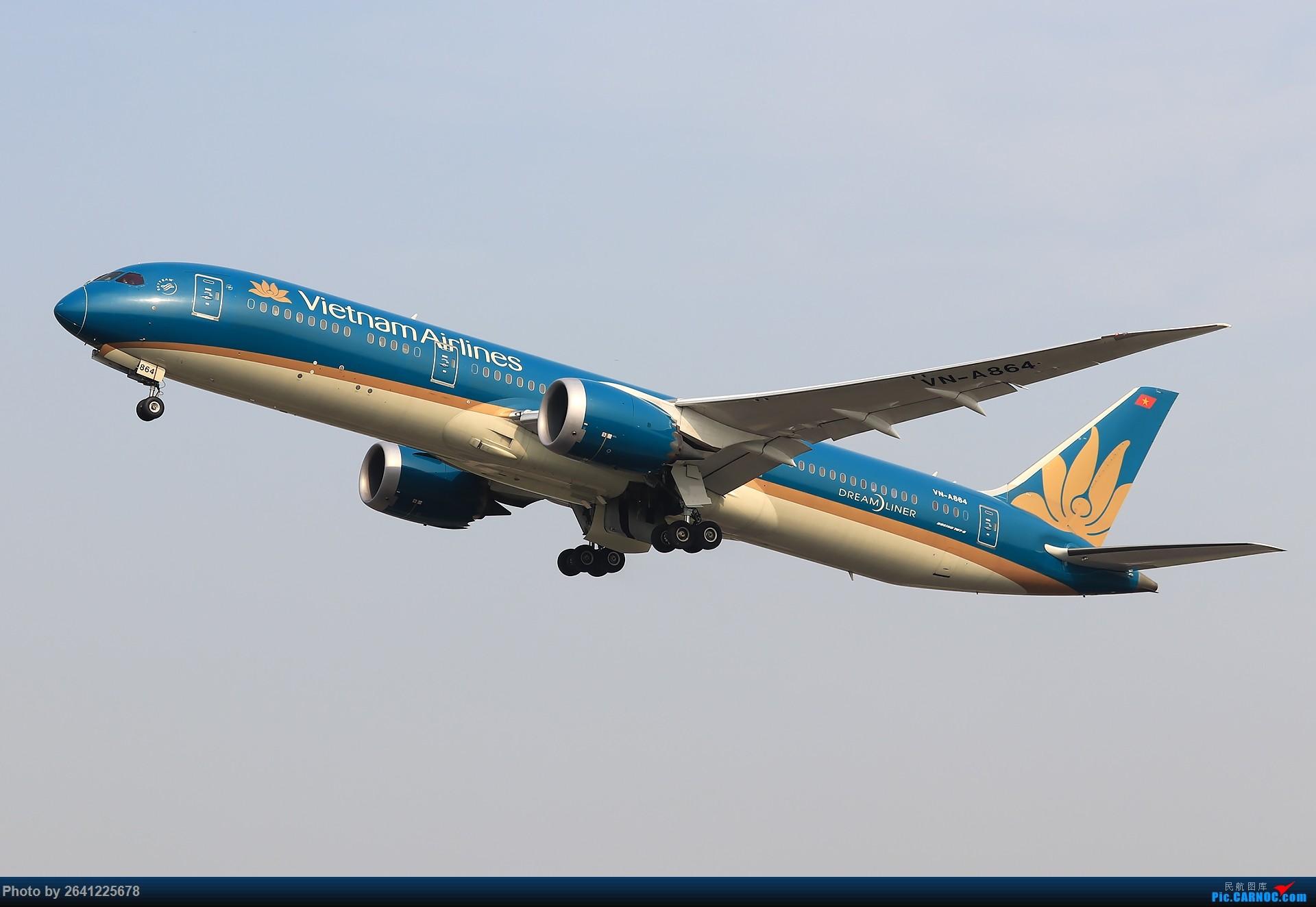 Re:[原创]【TAMRON 156 G2+77D 持续更新中】*****试新机+新镜*****(烂天+地热+渣技术,望大佬多多包涵) BOEING 787-9 VN-A864 中国北京首都国际机场