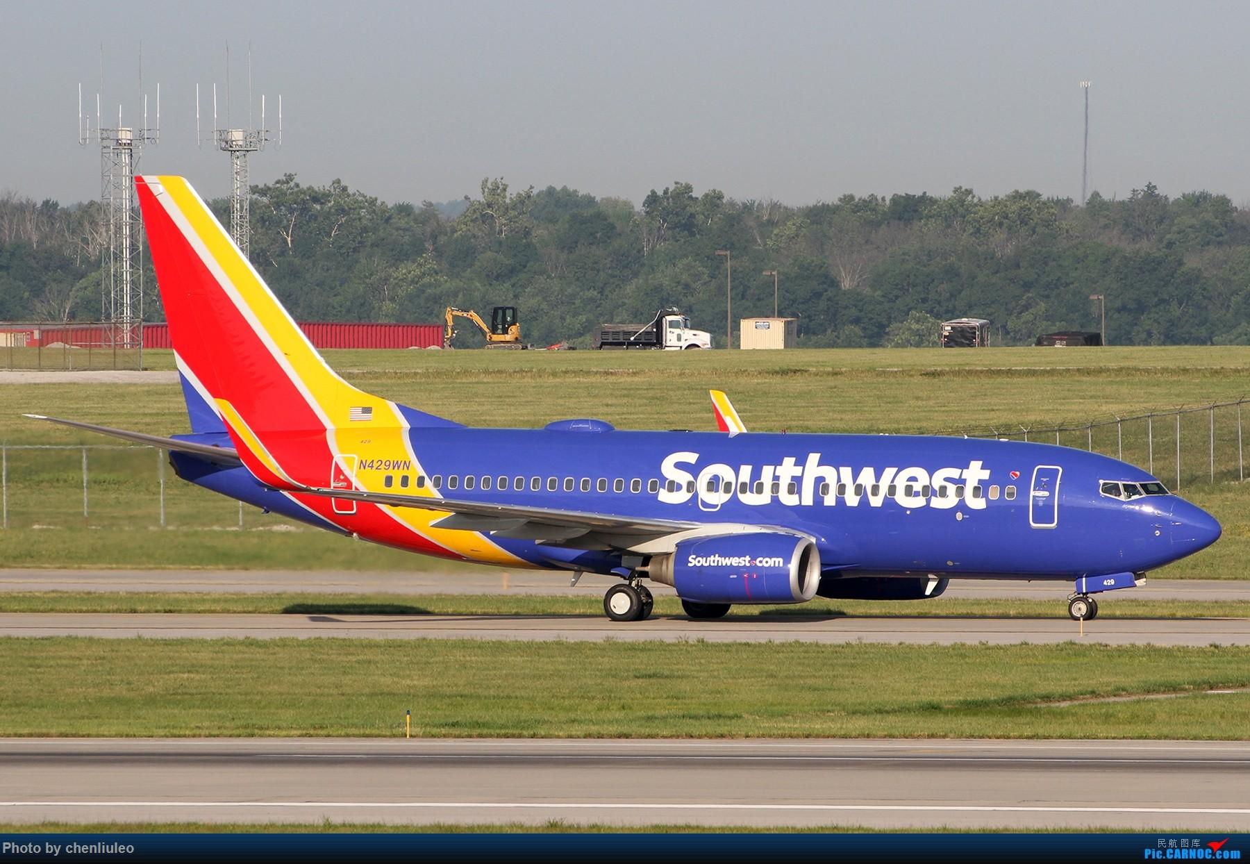 Re:[原创]【北美飞友会】辛辛那提北肯塔基国际机场 货机的天堂 BOEING 737-700 N429WN 美国辛辛那提-北肯塔基国际机场